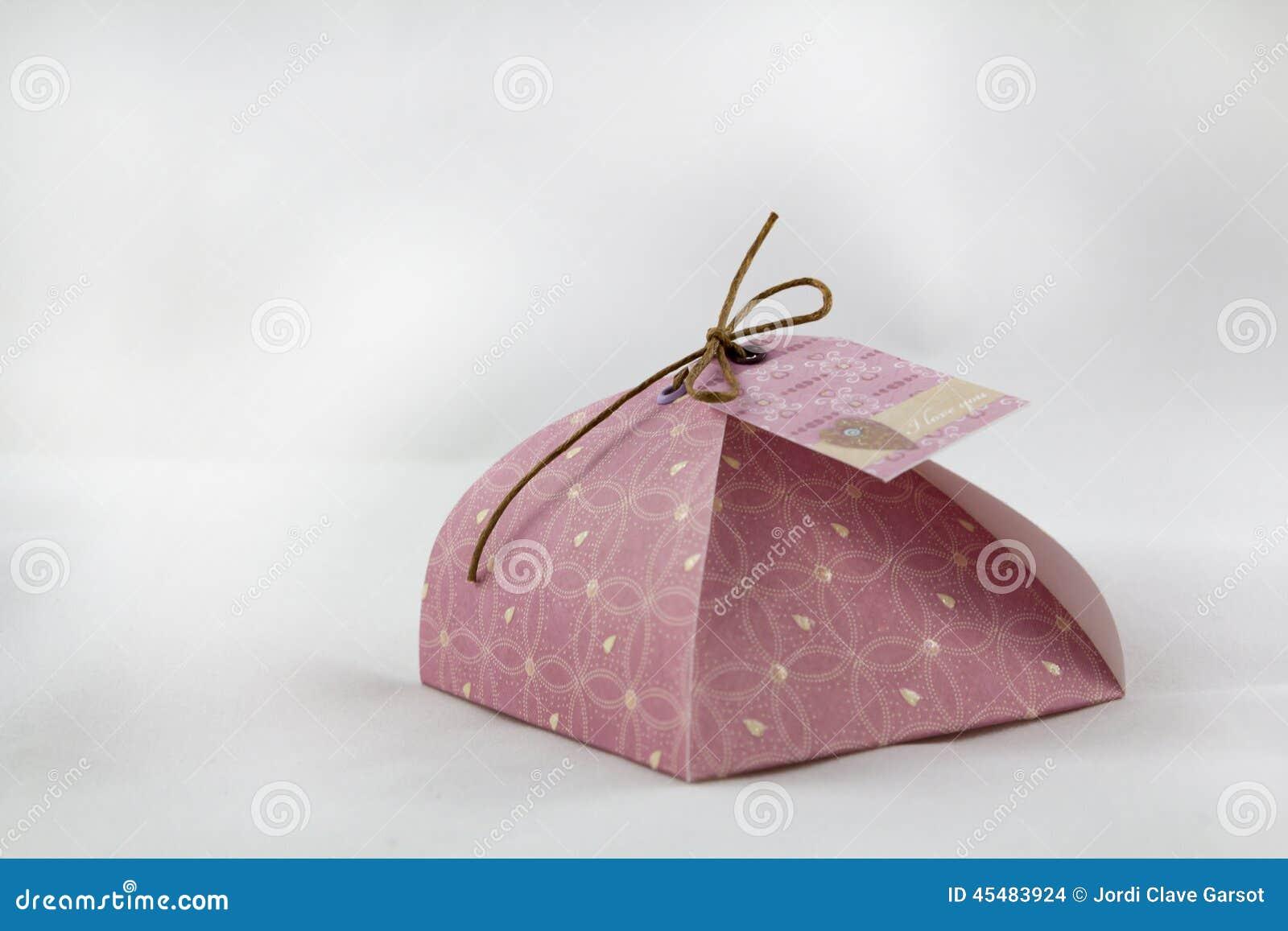 礼物盒,由纸制成