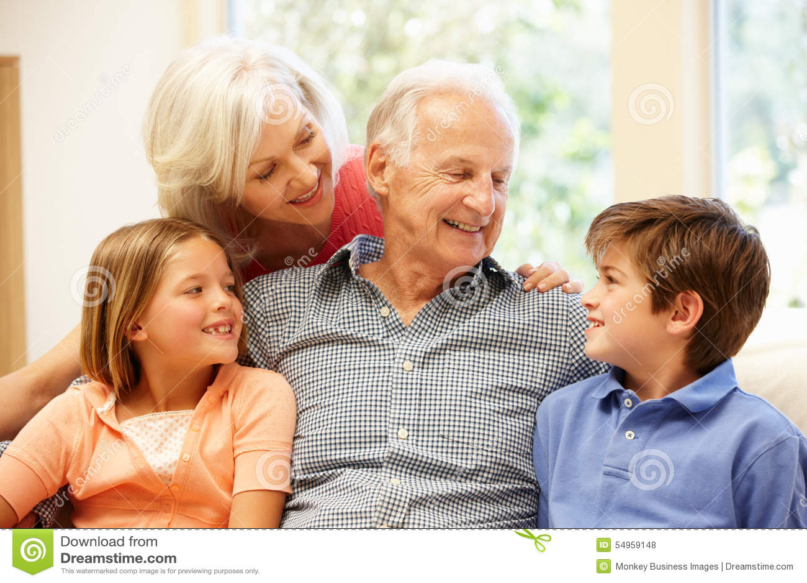 祖父项和孙
