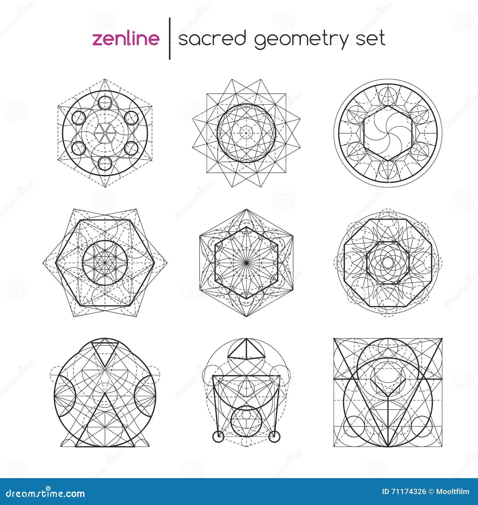 神圣的几何集合