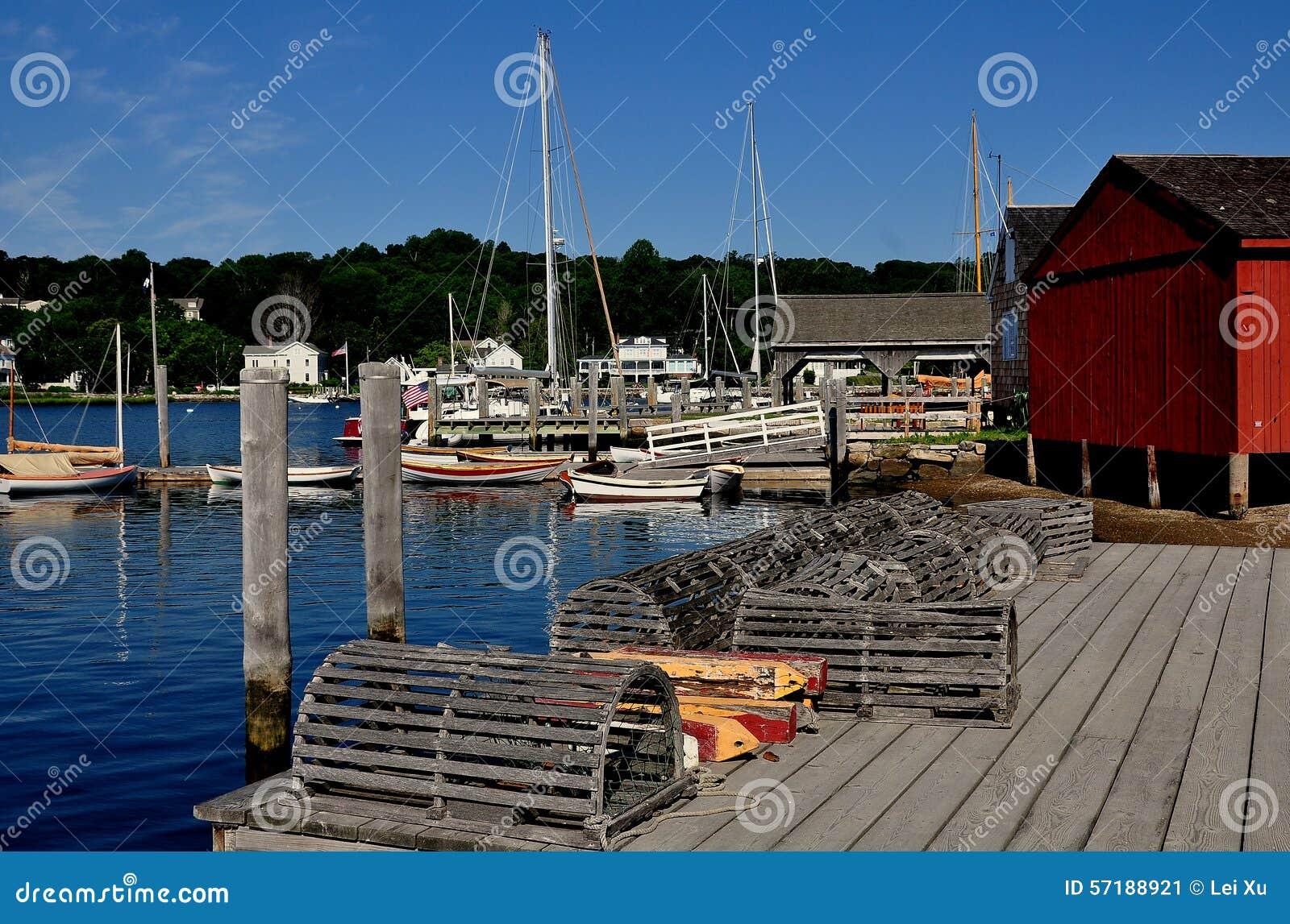 神秘主义者, CT :在码头的龙虾陷井