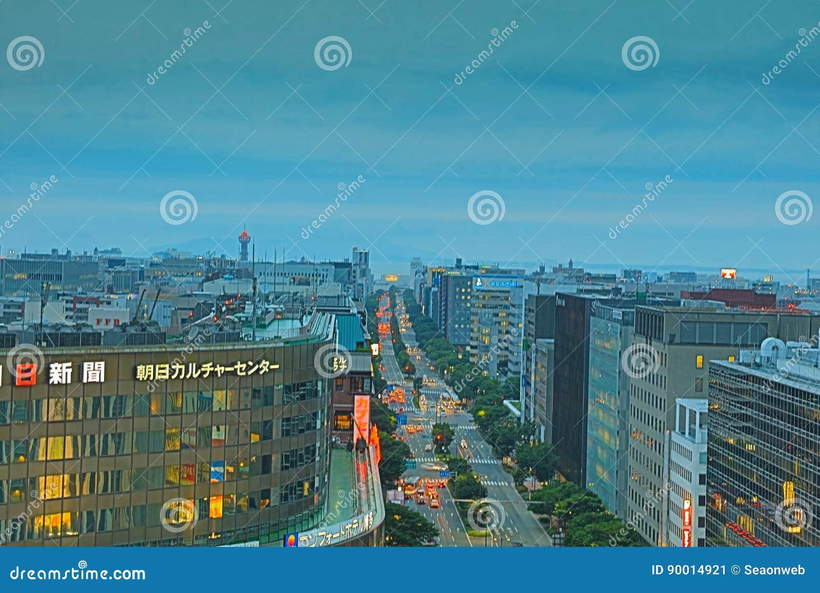 福冈是大城市在九州