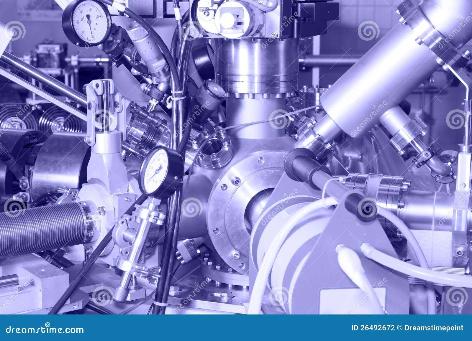 离子加速器的电子零件