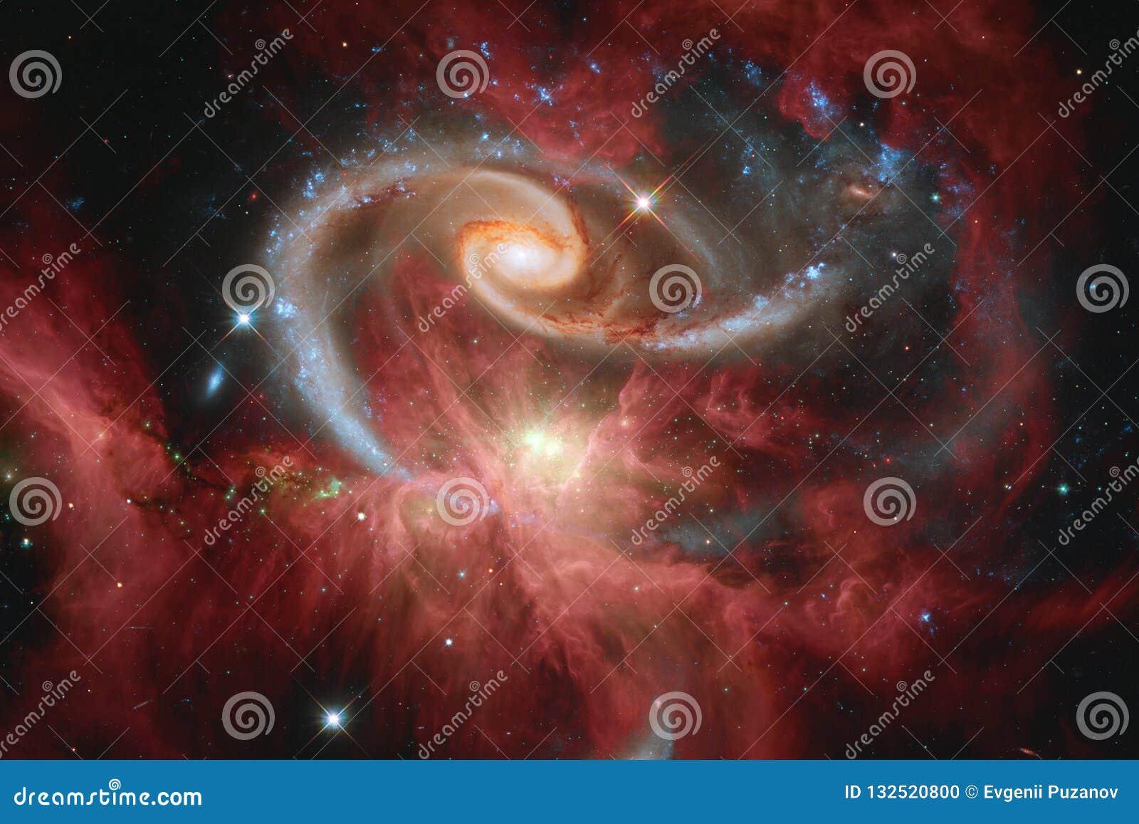 秀丽外层空间 科幻墙纸的幻想理想