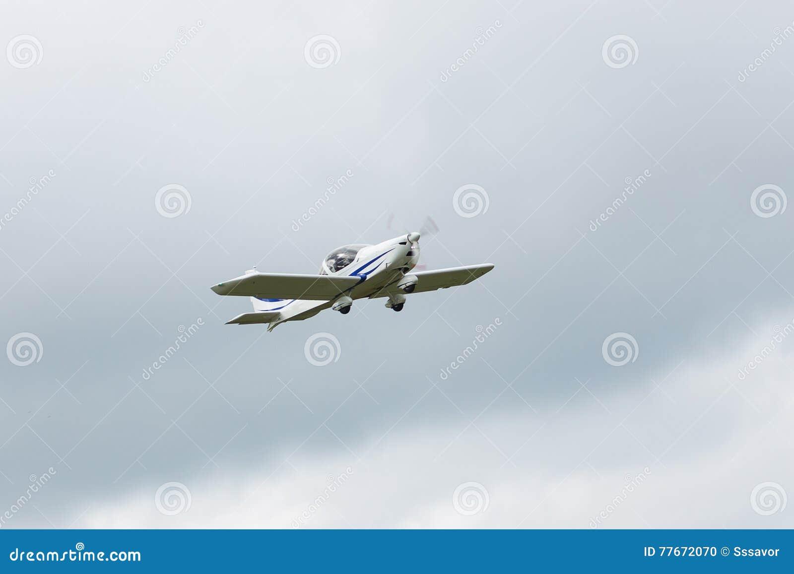 私人喷气式飞机停放