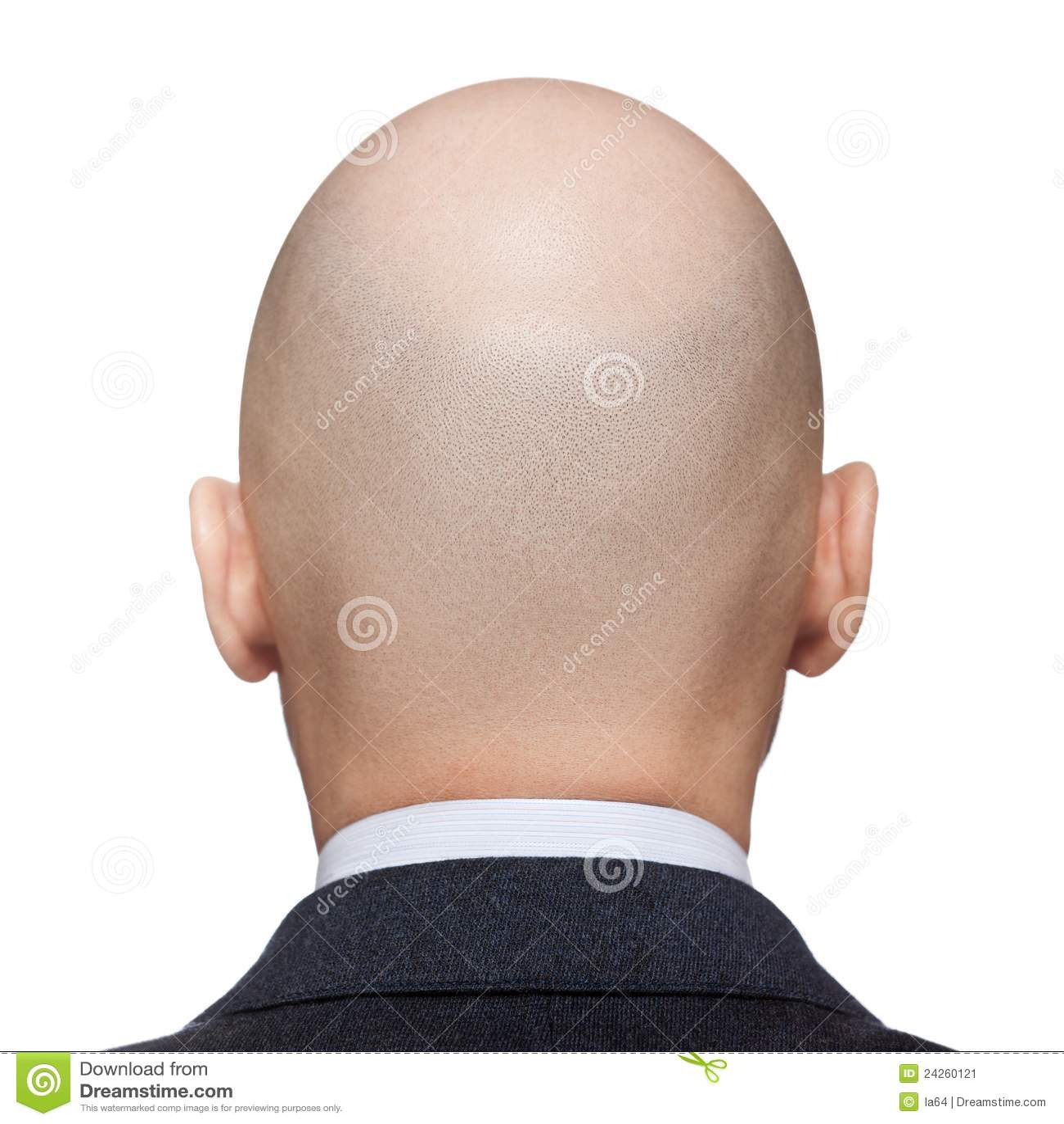 秃头人题头