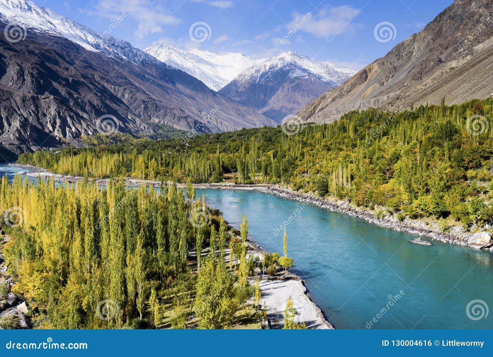 秋天季节在巴基斯坦