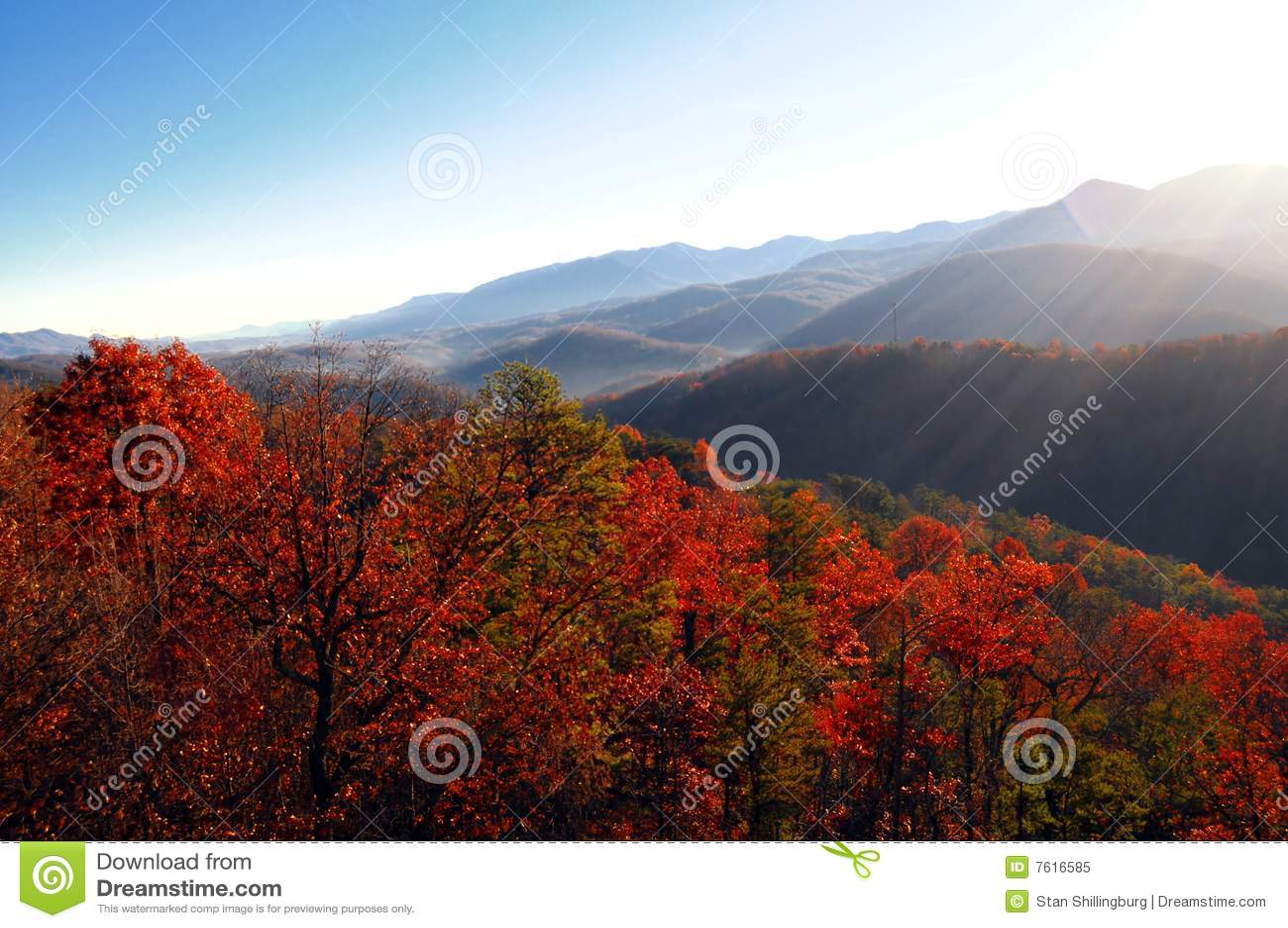 秋天lanscape视图