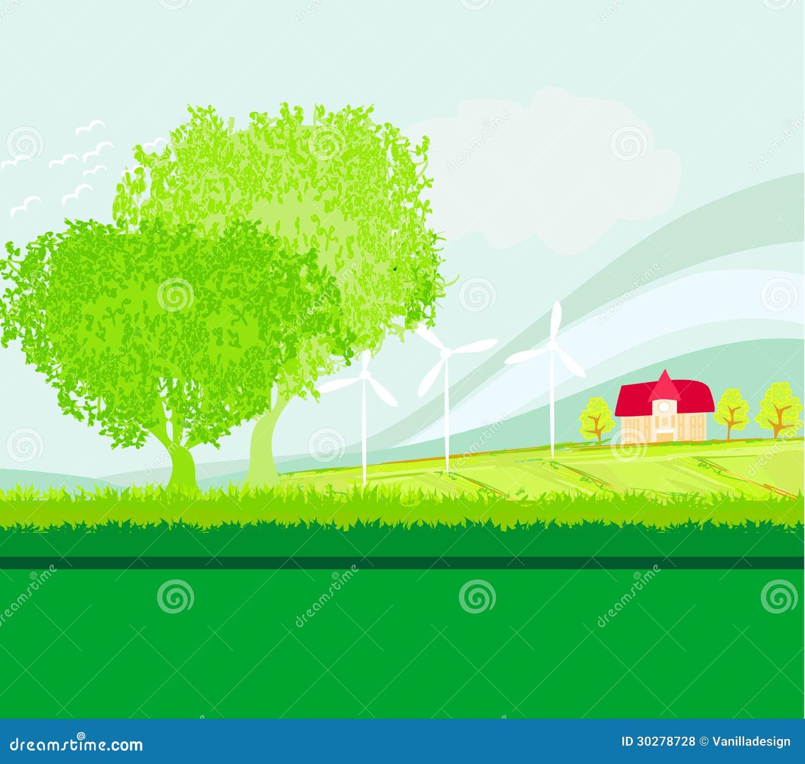 种田风景的Eco