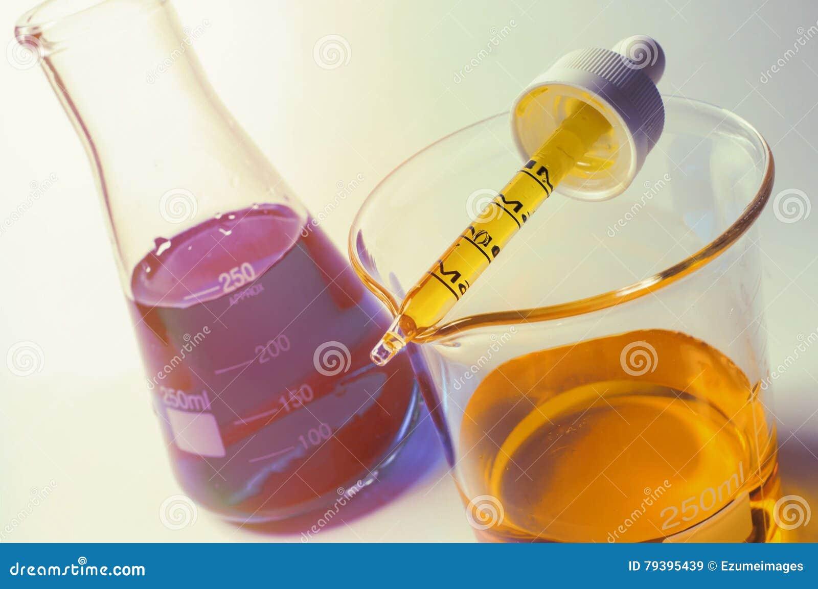 科学烧杯实验