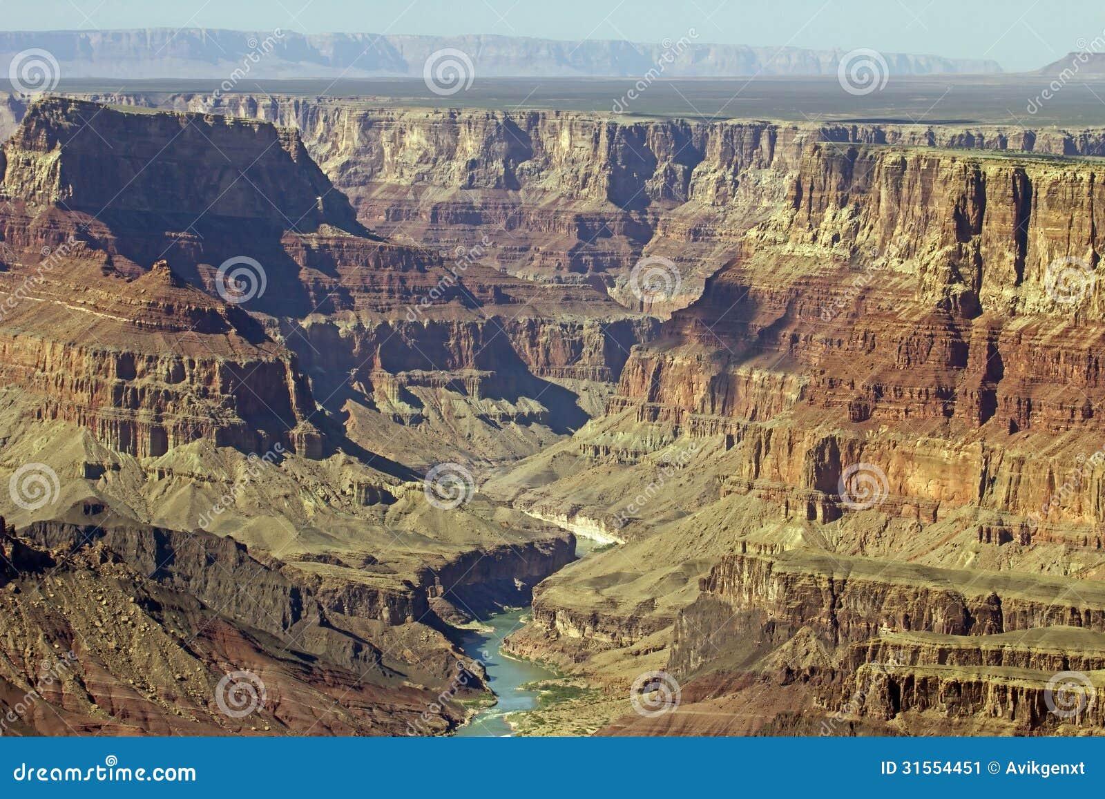 科罗拉多河在大峡谷国家公园亚利桑那,美国