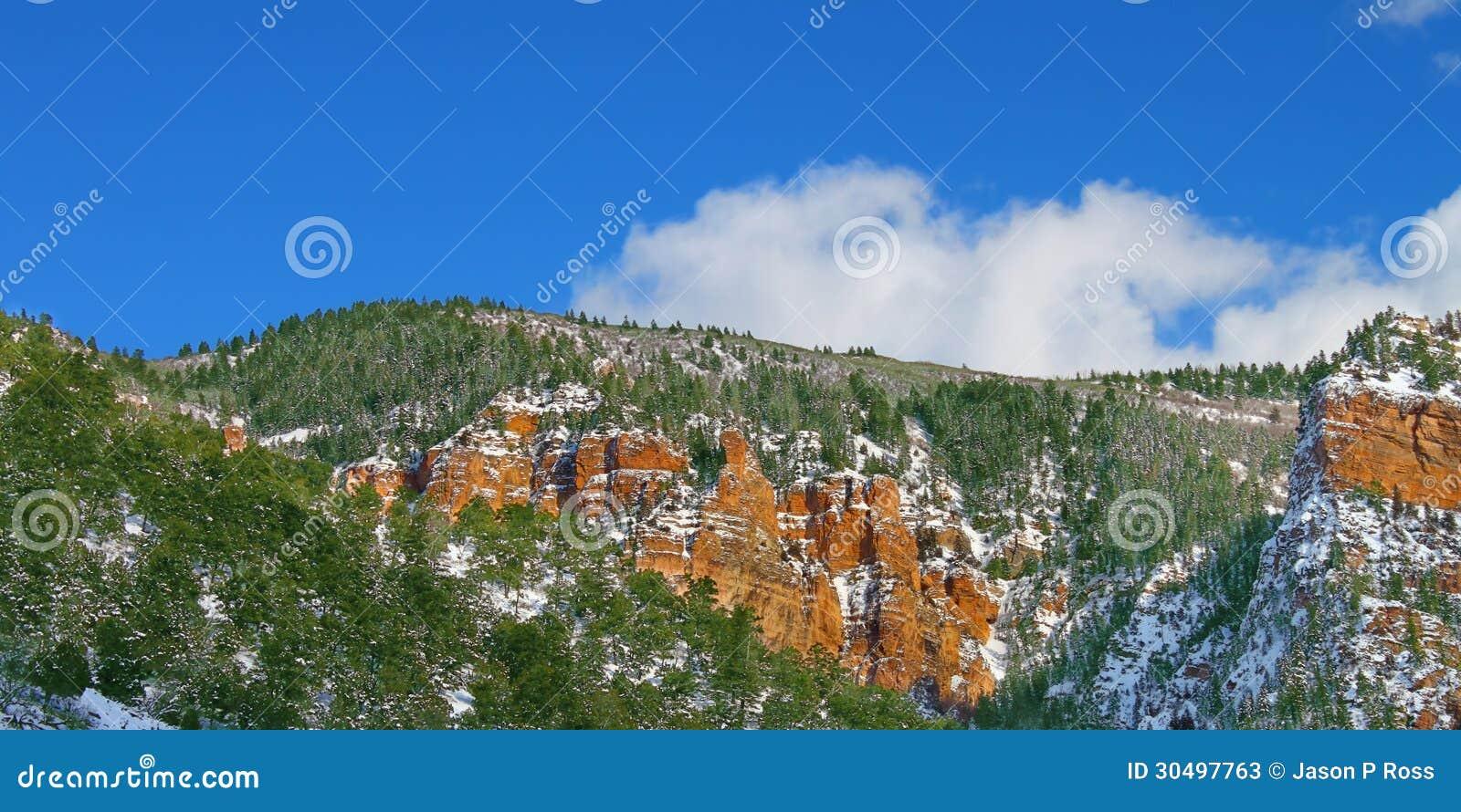 科罗拉多Glenwood峡谷