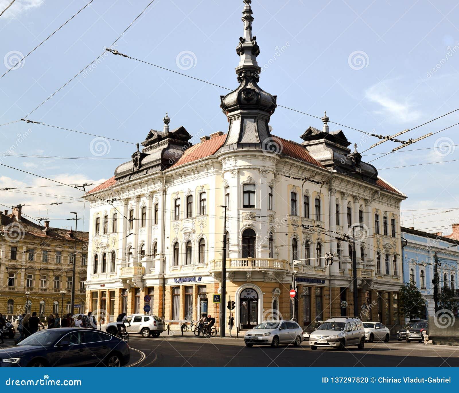 科鲁Napoca Arhitecture在罗马尼亚
