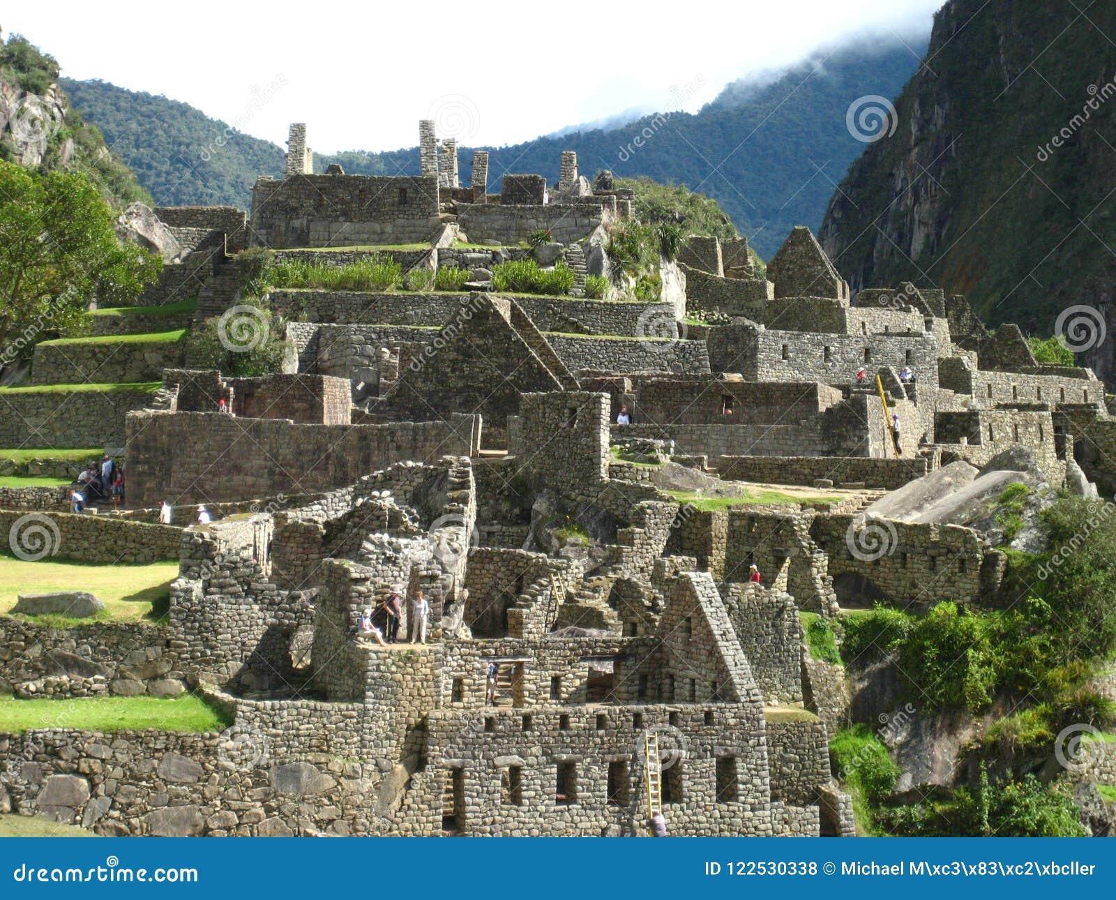 秘鲁:Machu Pichu,在Andines的联合国科教文组织世界遗产名录