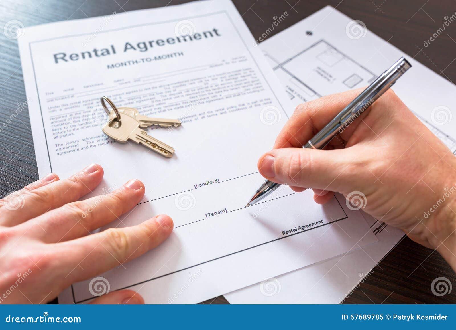 合同_对标志的租赁协议合同.