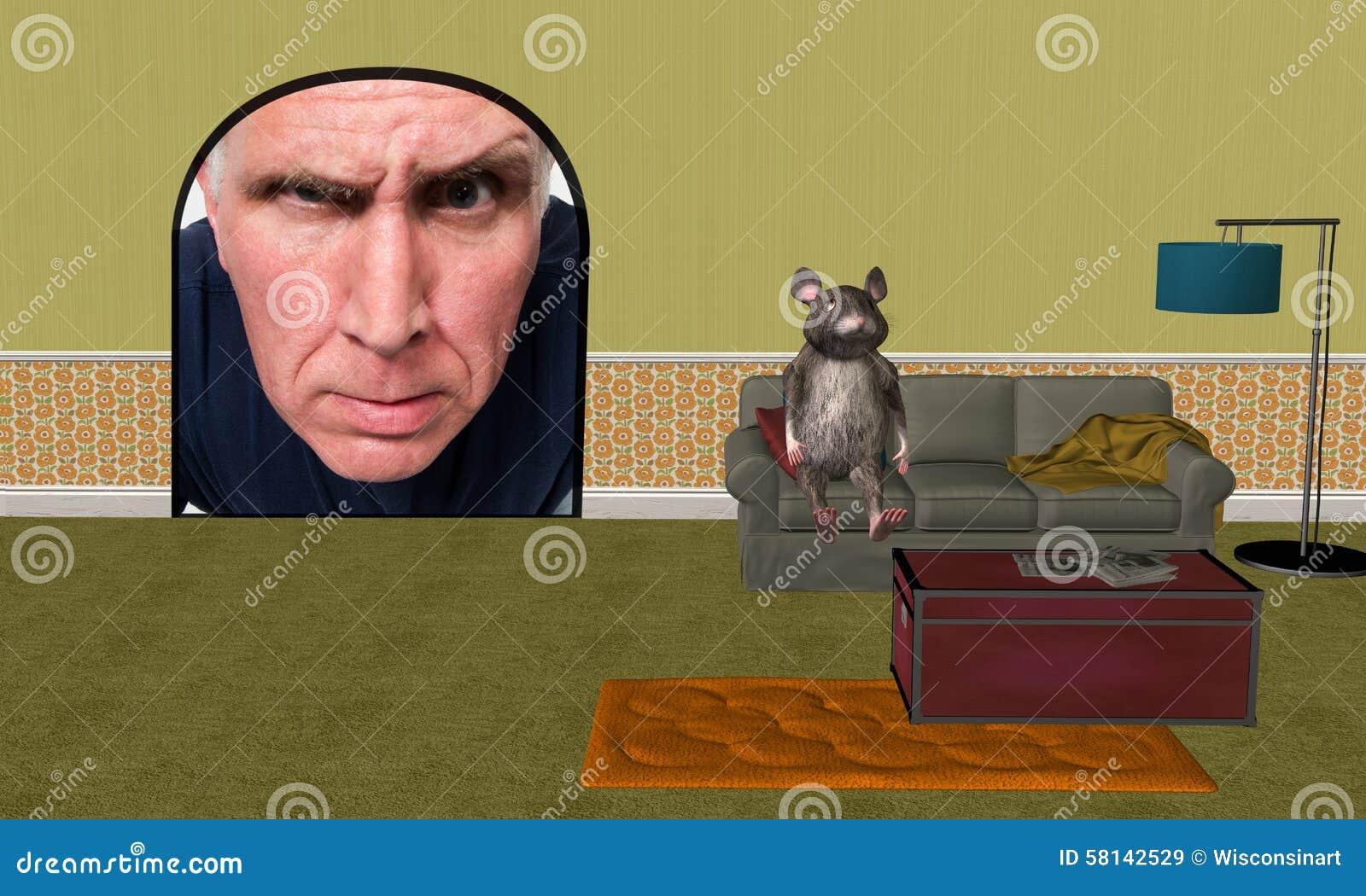 滑稽的家鼠,住所改善