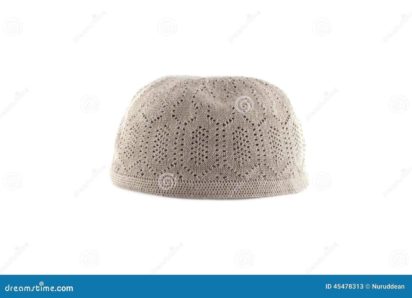 穆斯林的Kopiah帽子