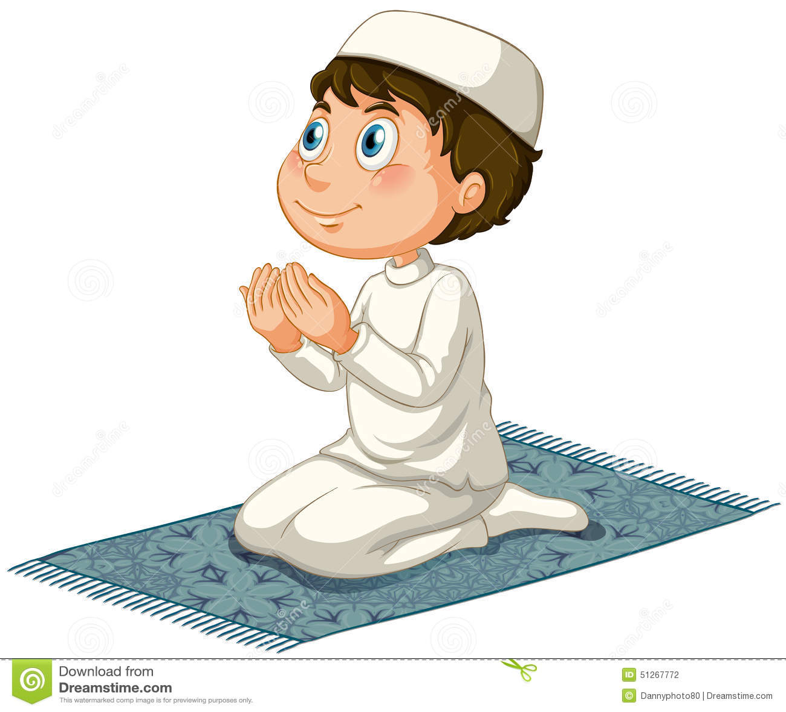 穆斯林祈祷手势分享展示图片