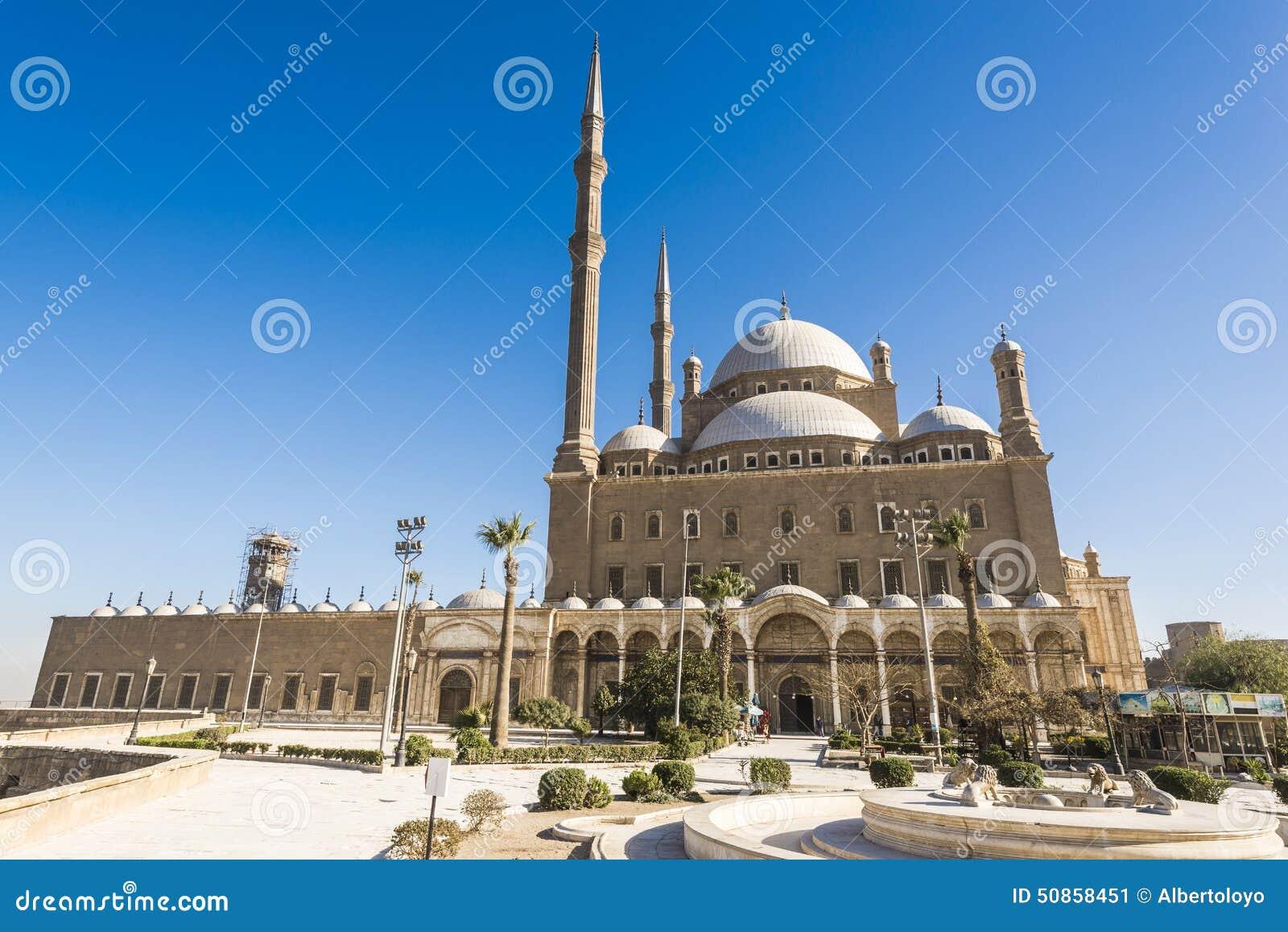 穆罕默德・阿里,开罗(埃及)的萨拉丁城堡清真寺