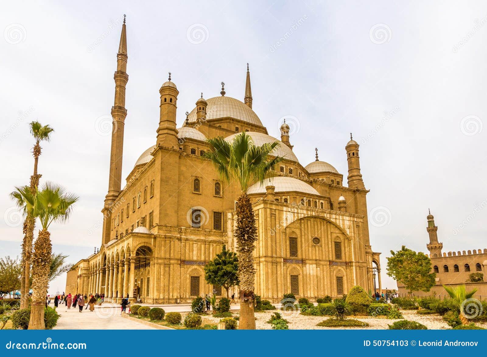 穆罕默德・阿里巴夏伟大的清真寺在开罗