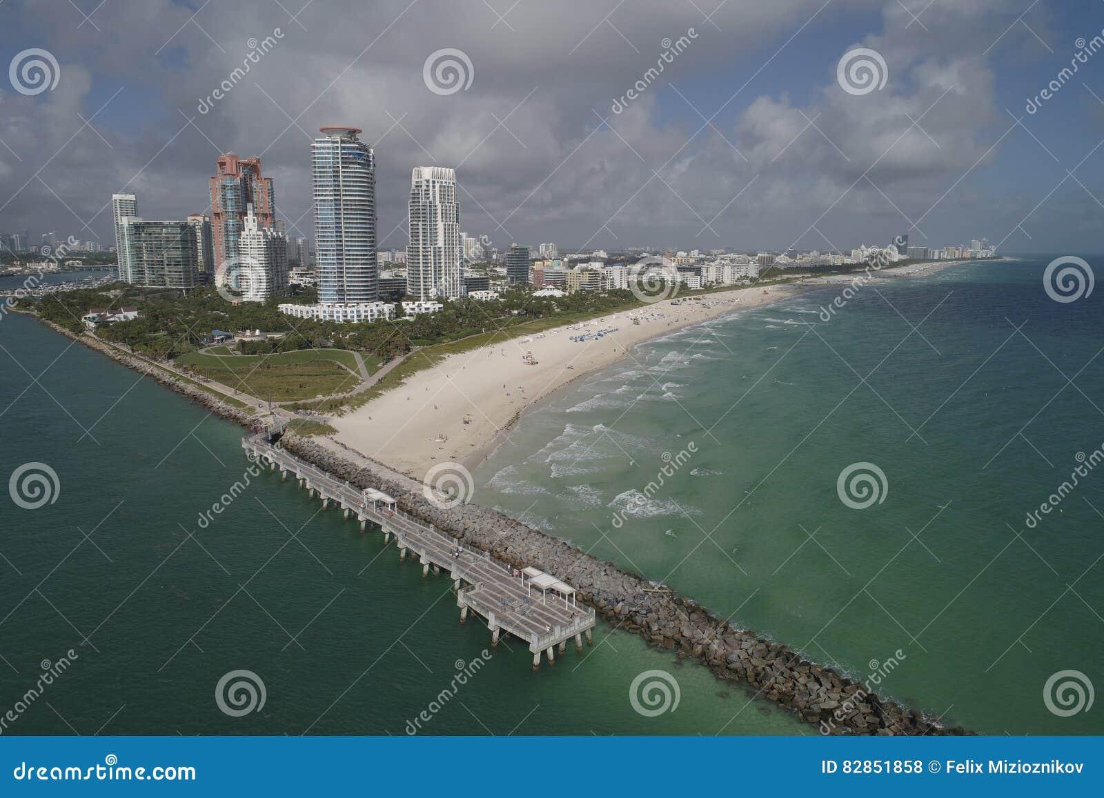 空中海滩迈阿密视图