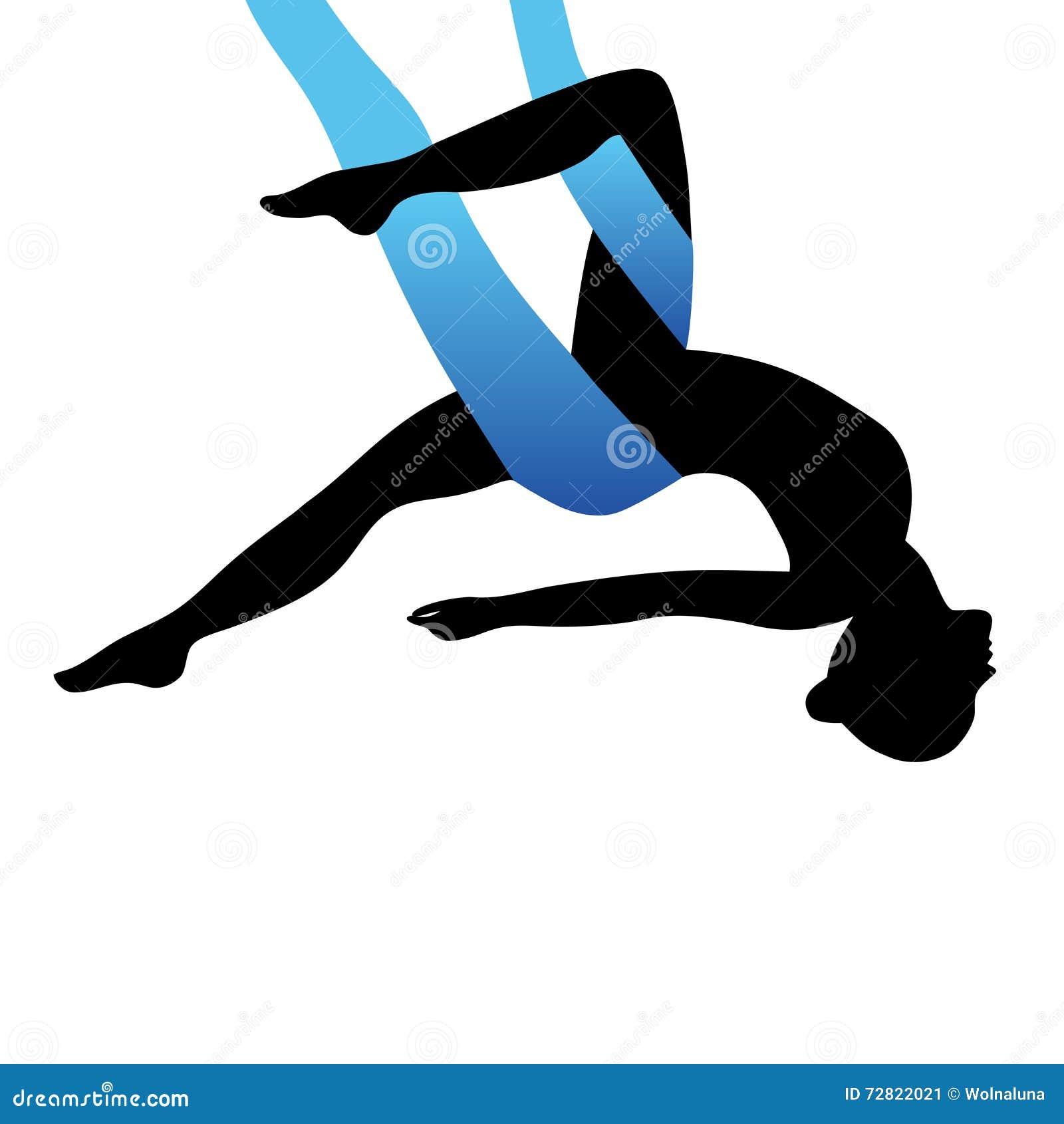 空中瑜伽 航空瑜伽 反地心引力的瑜伽