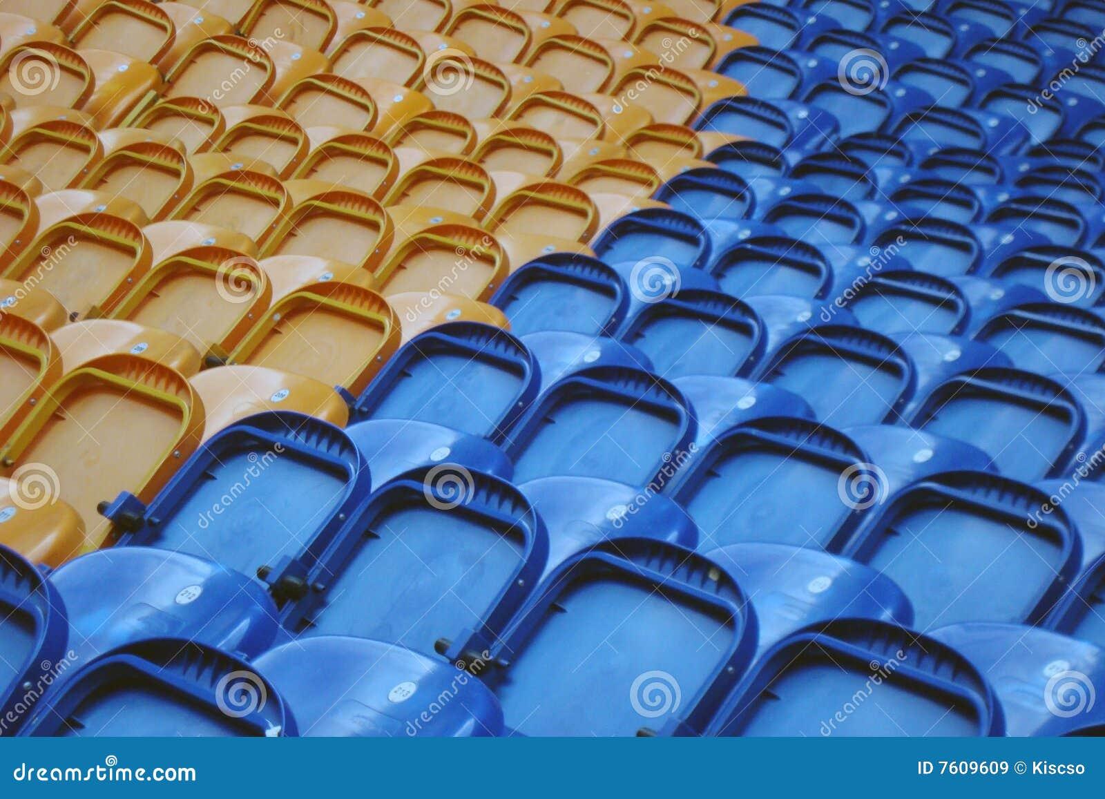 空座位体育场
