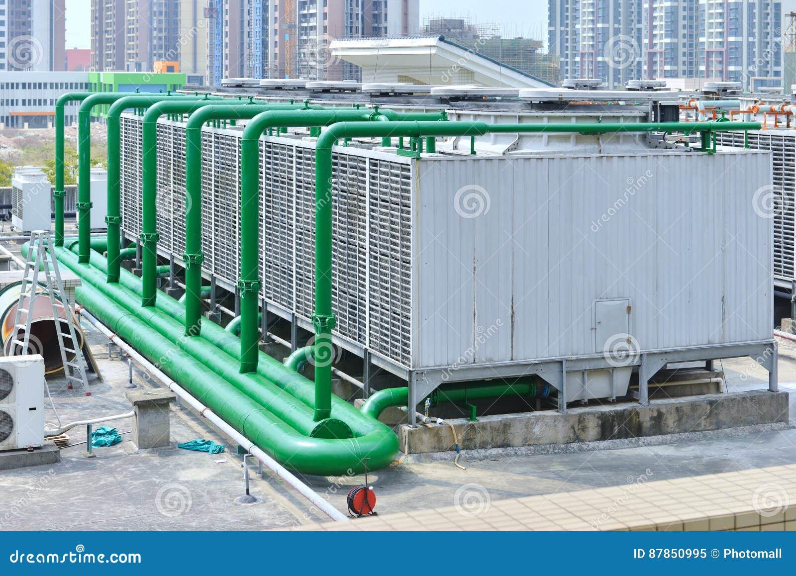 空气凉快的适应的系统