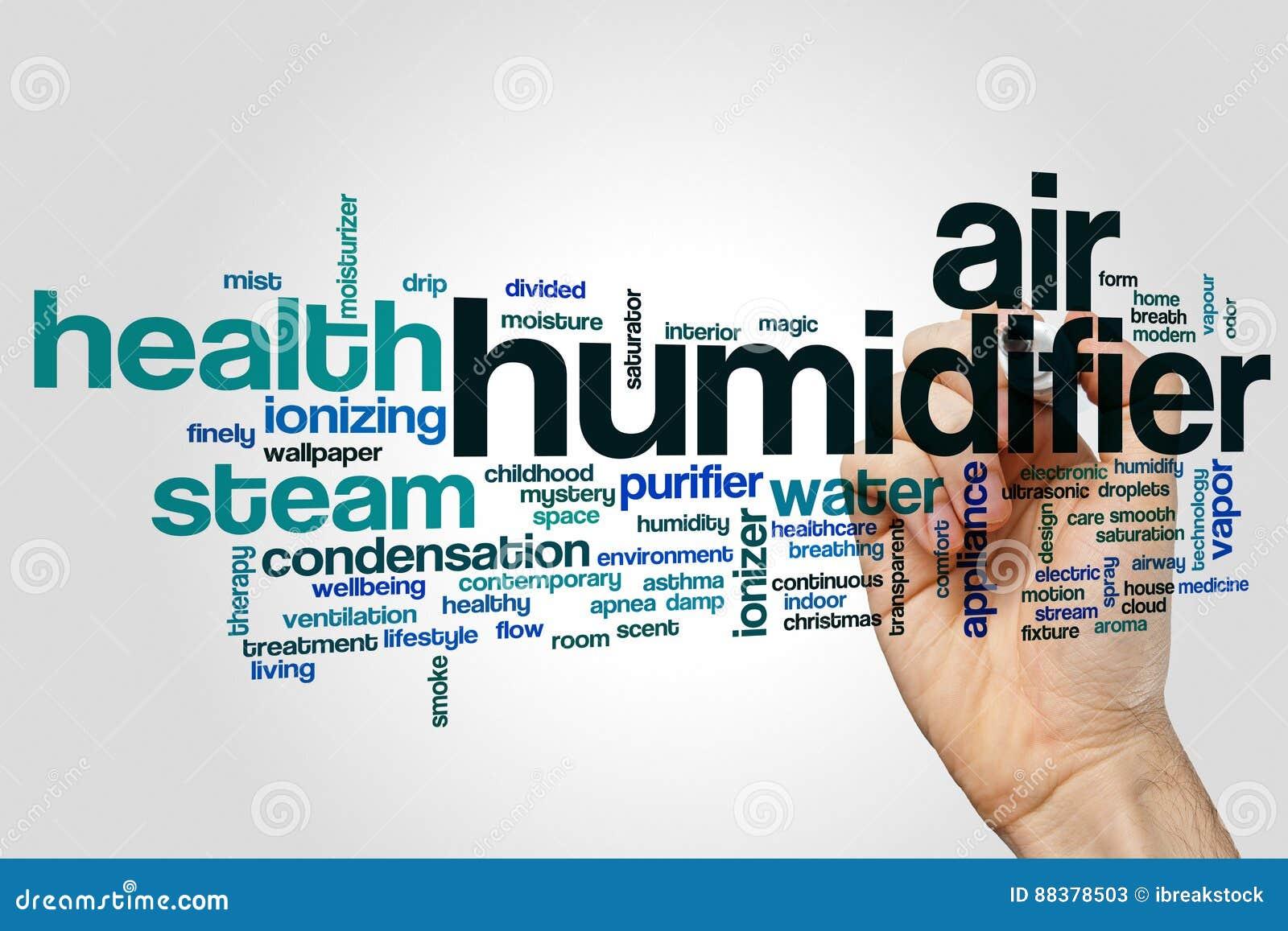 空气润湿器词云彩