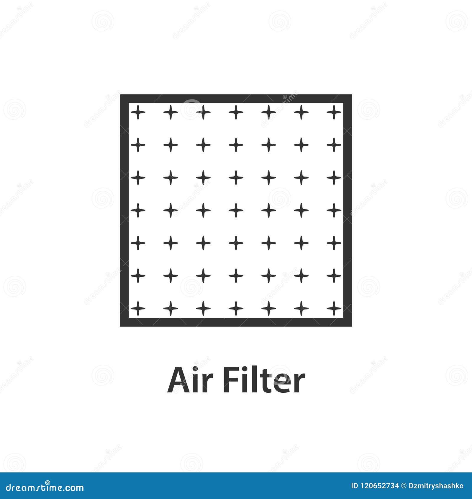 空气过滤器象