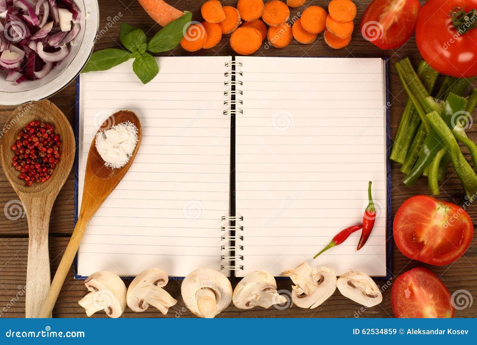 空白书食谱