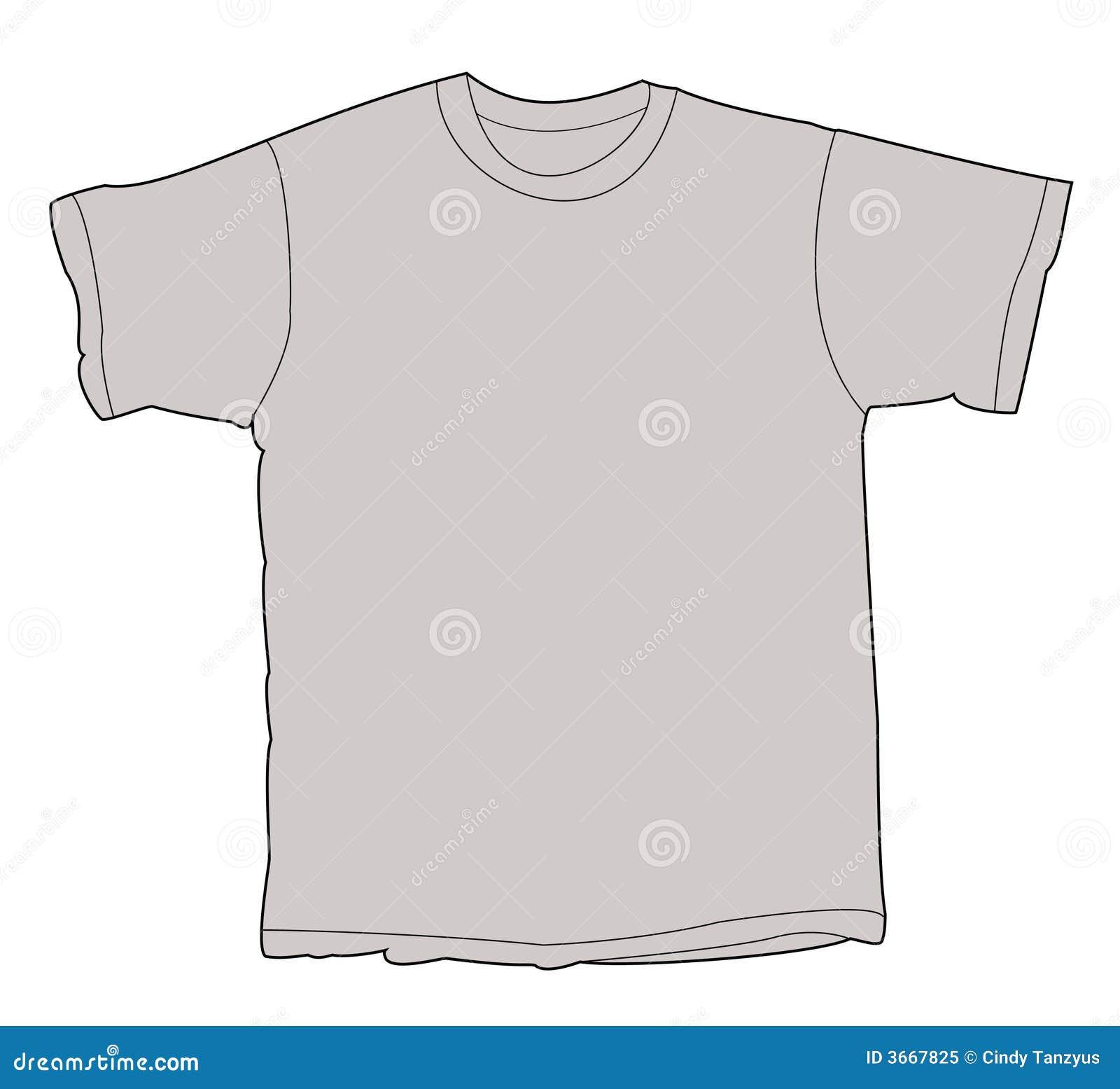 空白例证衬衣