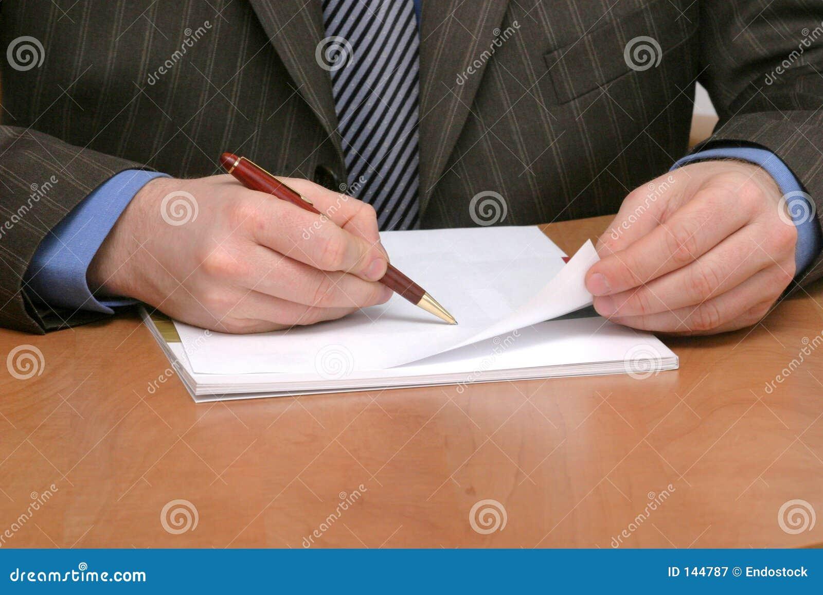 空白商人纸张文字