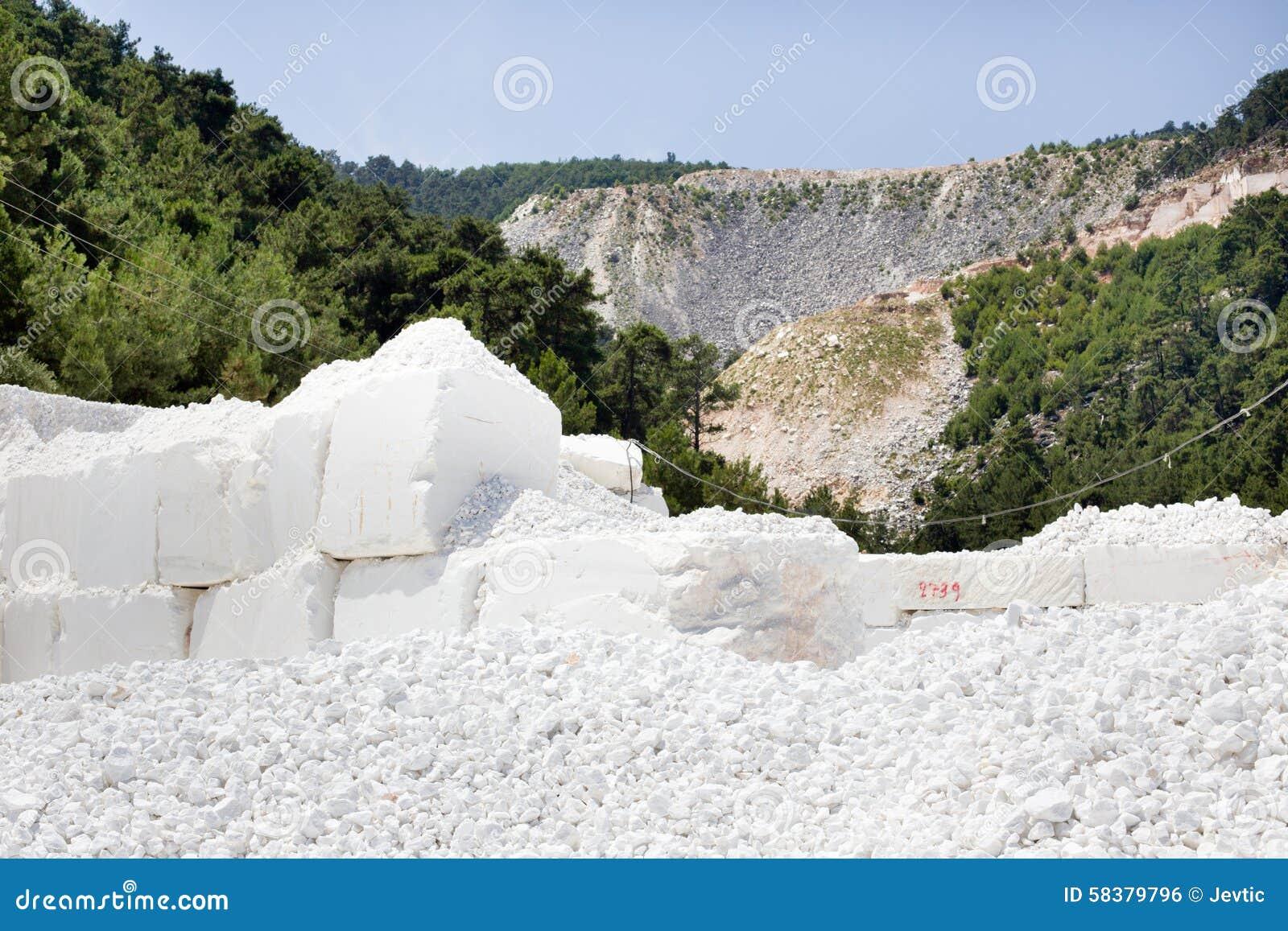 空白希腊大理石猎物的thassos