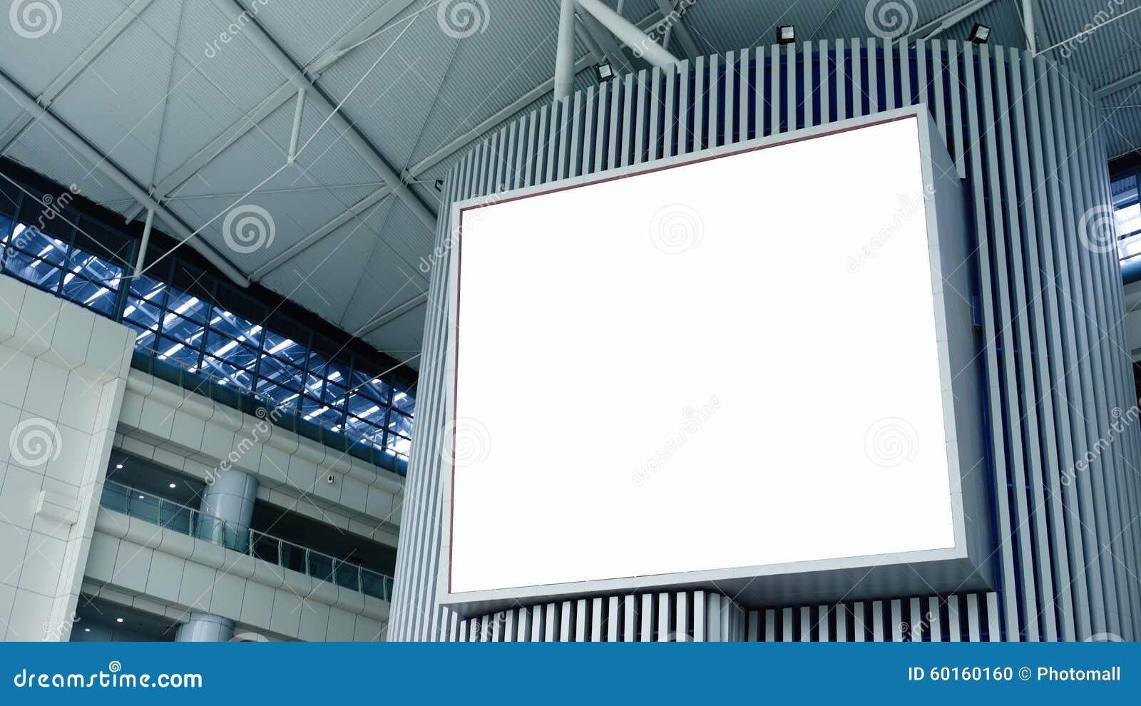 空白广告牌