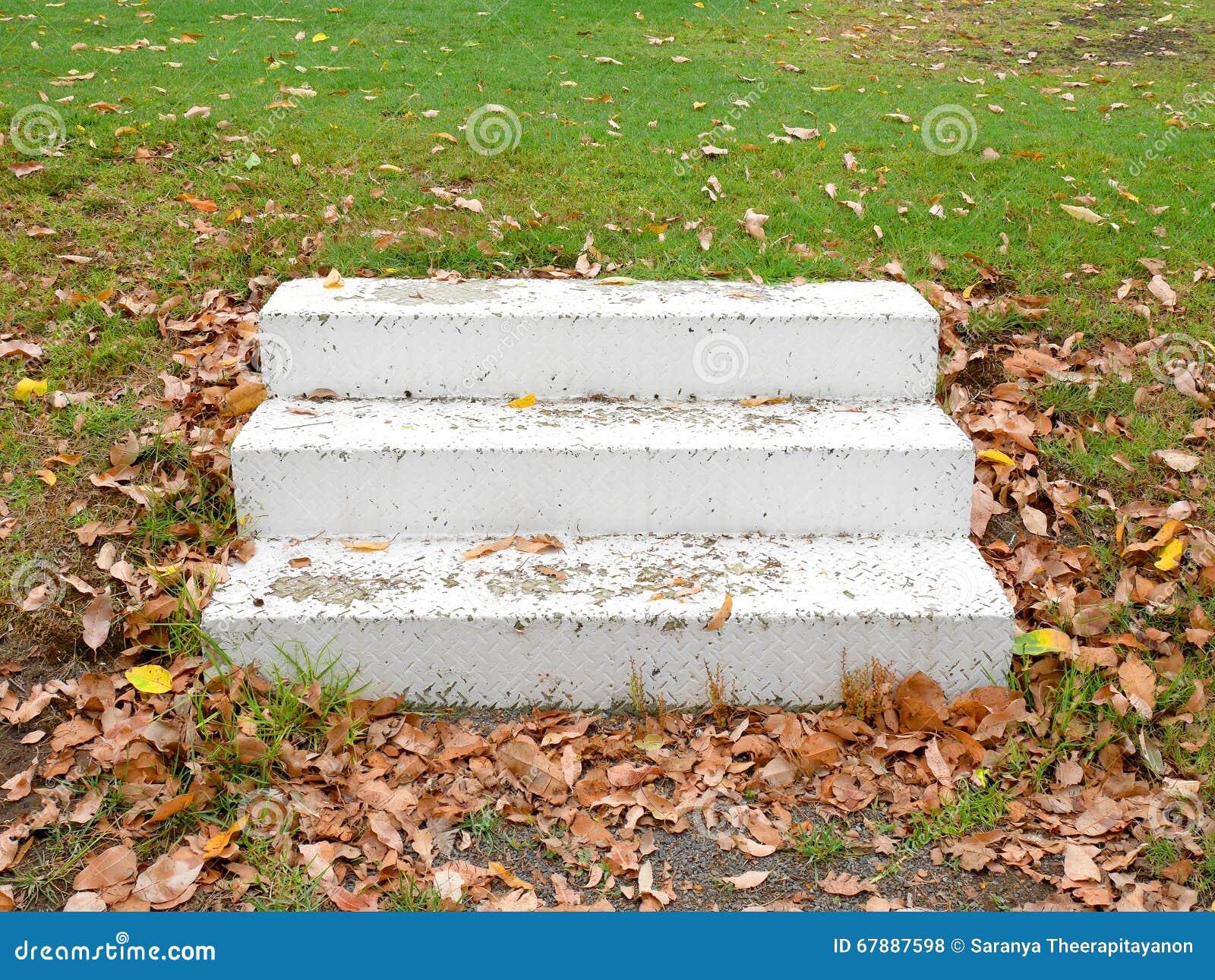 空白的台阶
