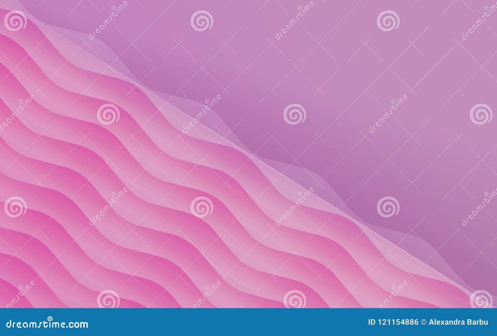空白的桃红色精美邀请卡片模板背景