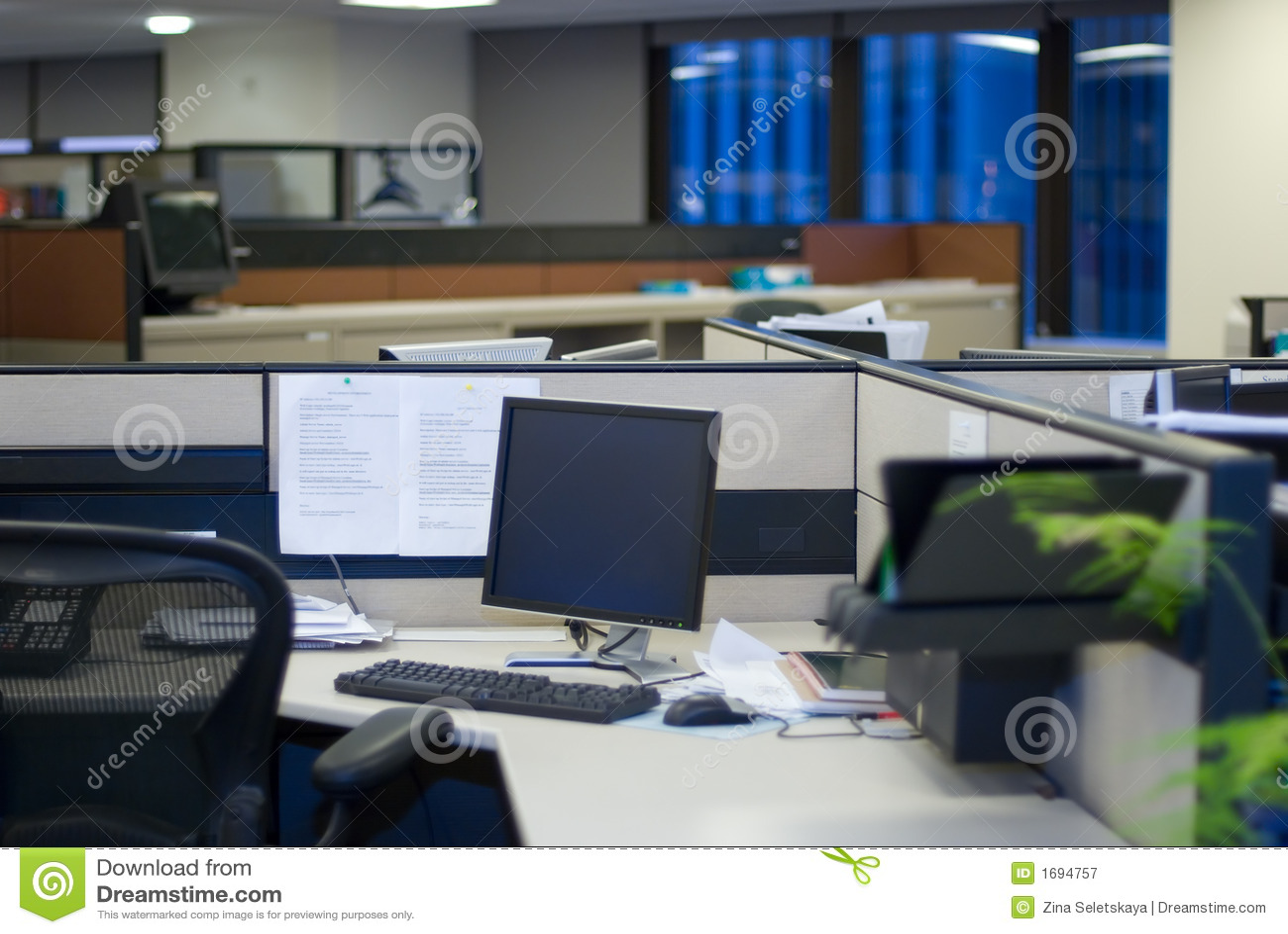 空的办公室