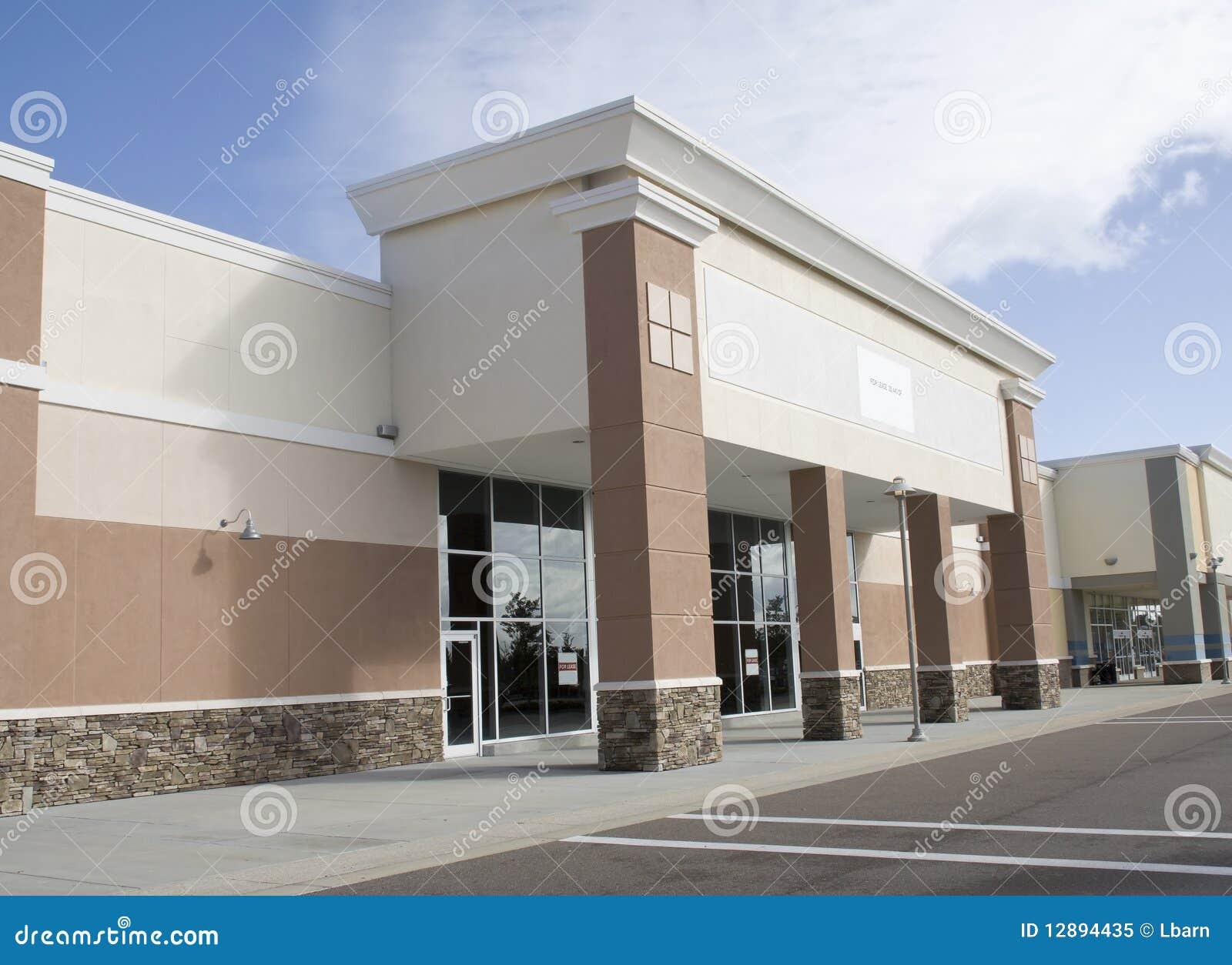 空的大零售店