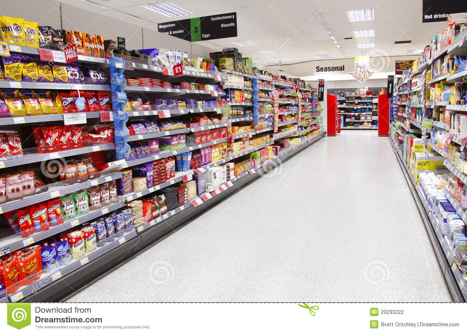 空的小岛超级市场