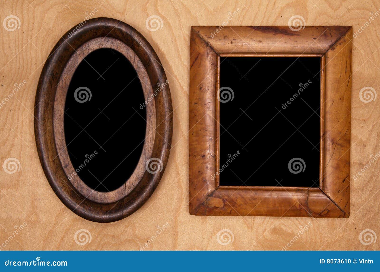 空的框架照片wintage