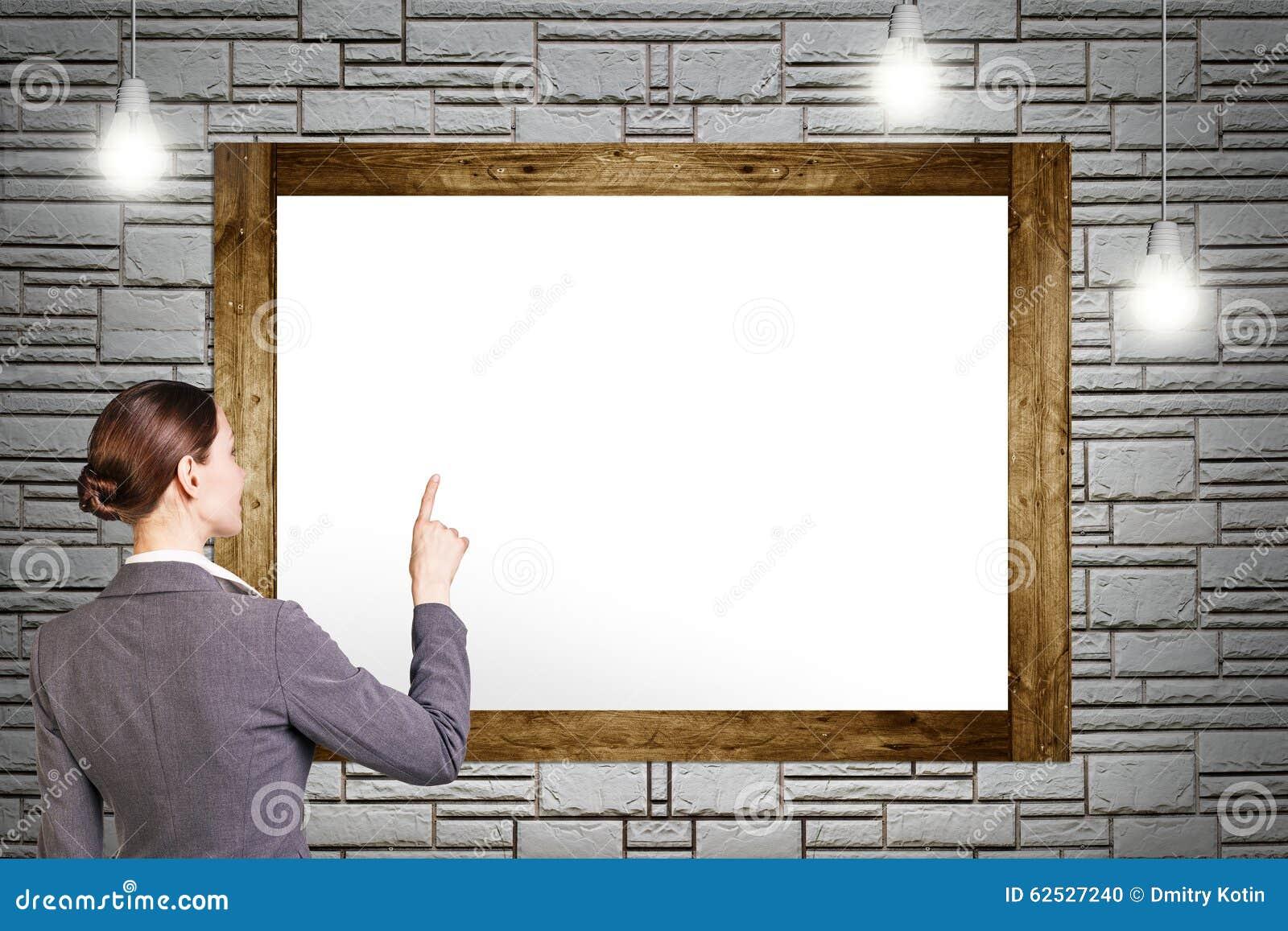 绘画空的框架