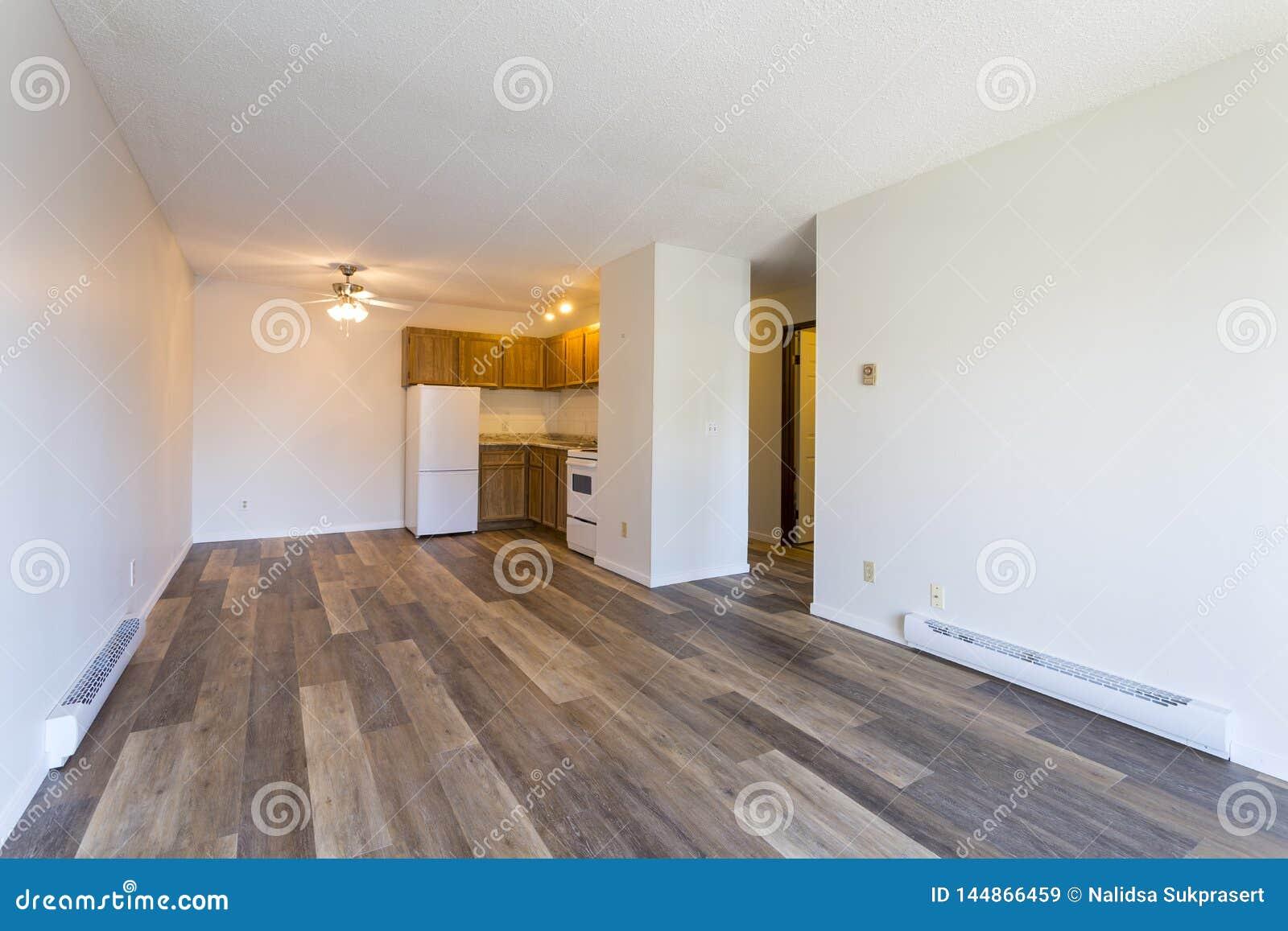 空的空置公寓室