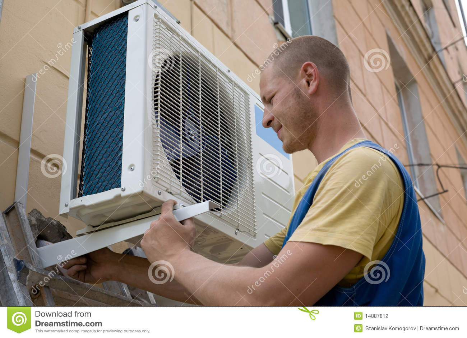 空调器安装程序新的集
