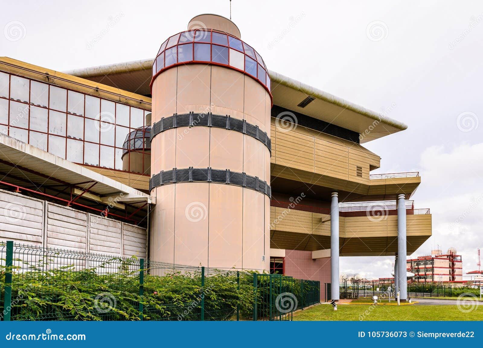 空间博物馆在库鲁,法属圭亚那