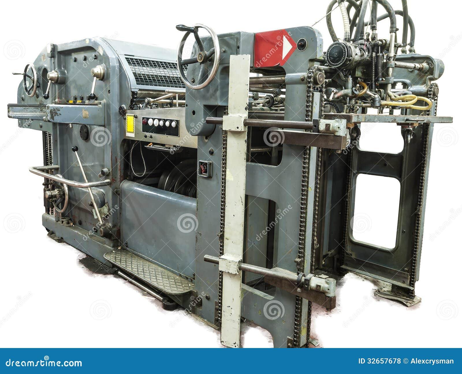 穿孔机器和印刷品卡片