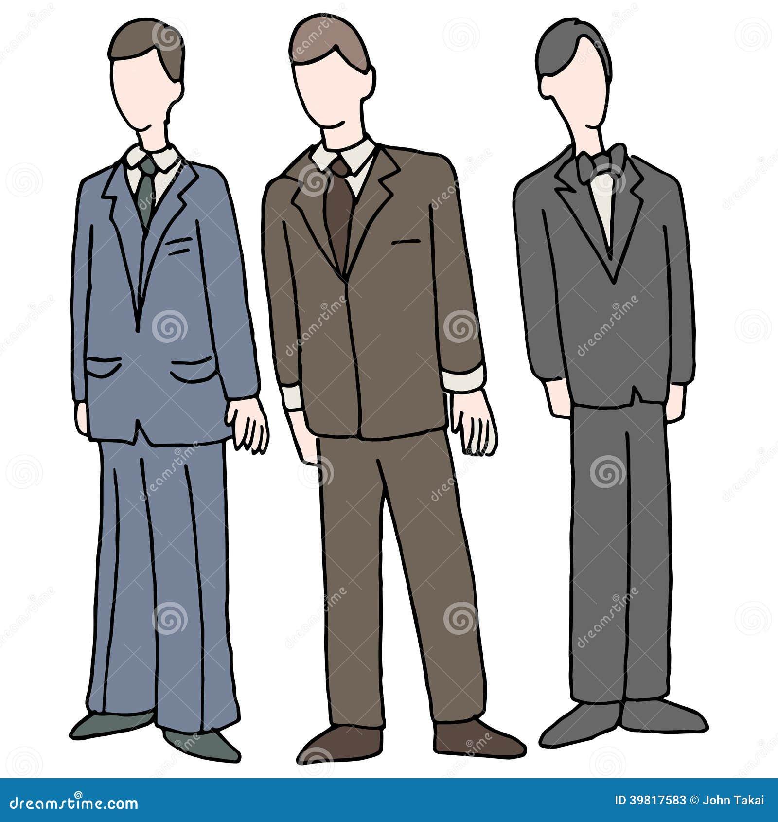 穿正式服装的人的图象.图片