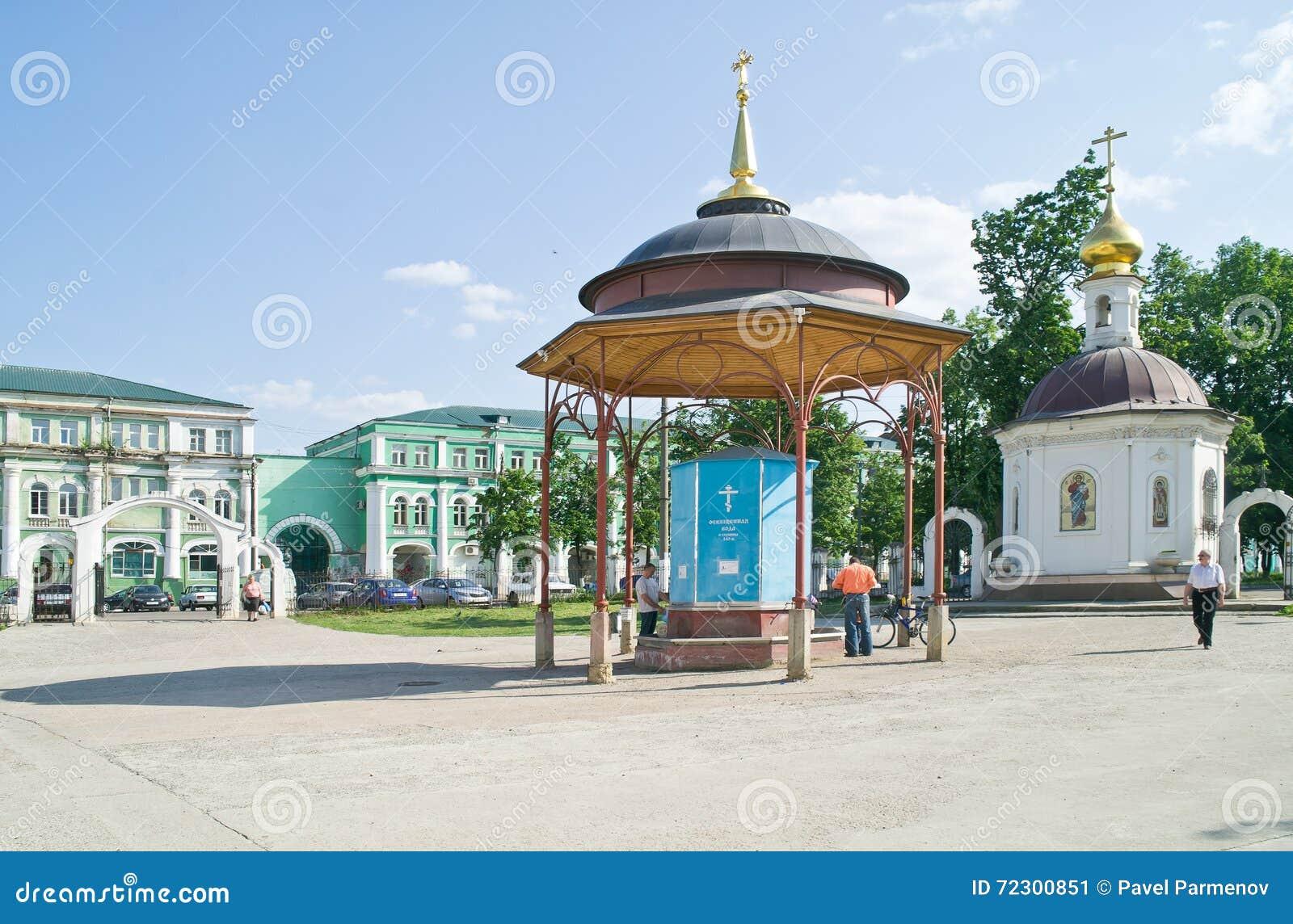 突然显现大教堂的疆土 奥廖尔州