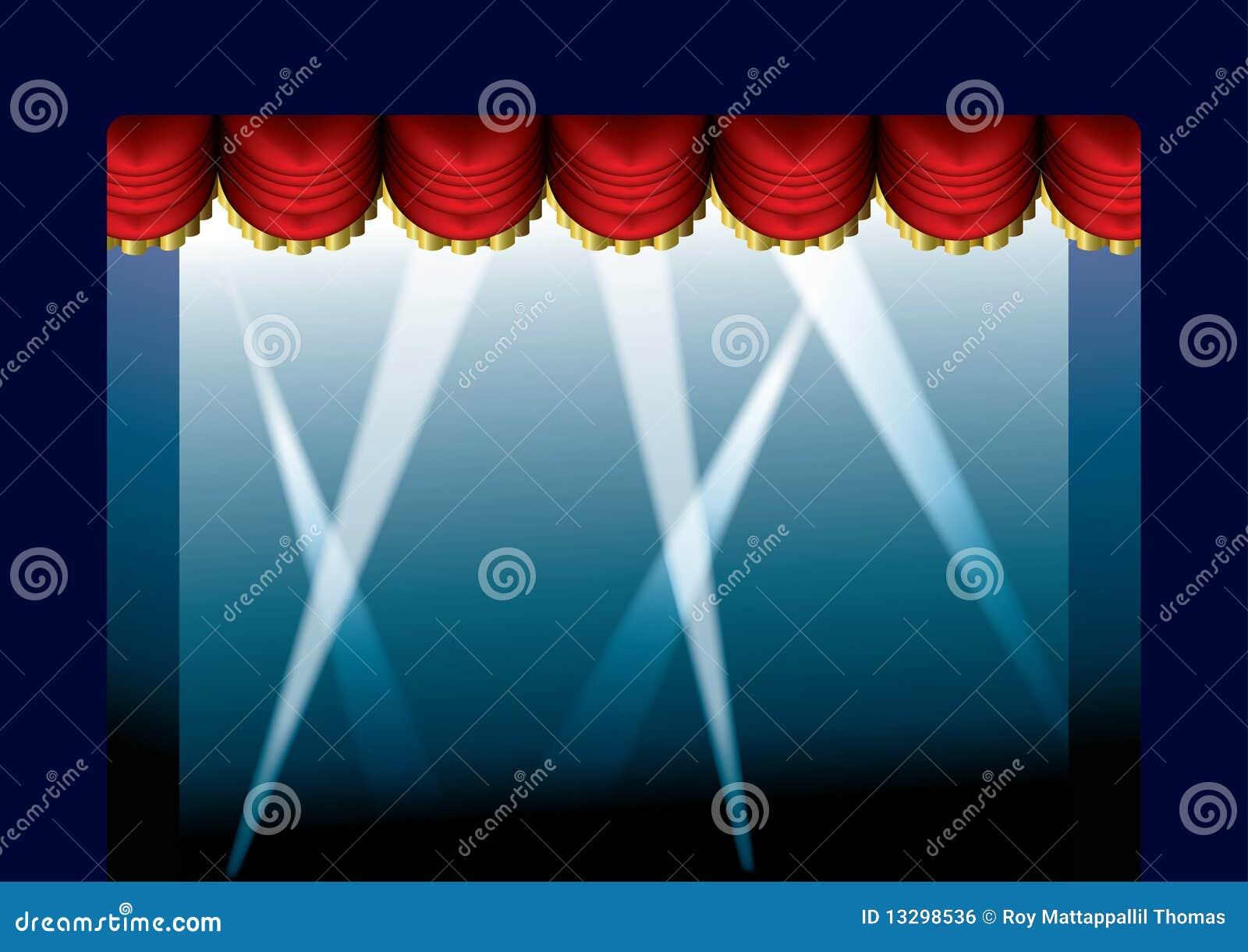 窗帘被开张的阶段