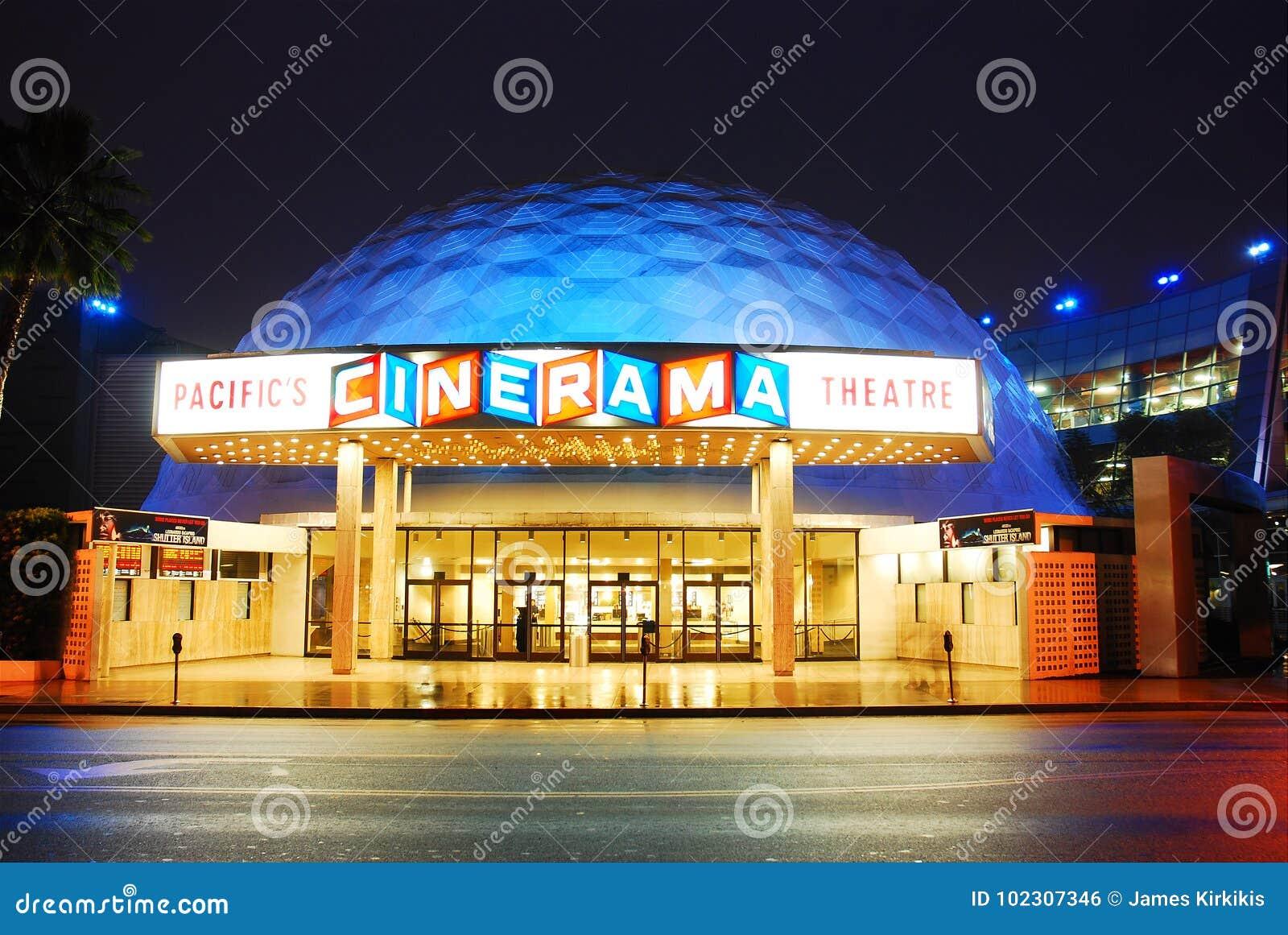 立体声宽银幕电影,和平的剧院