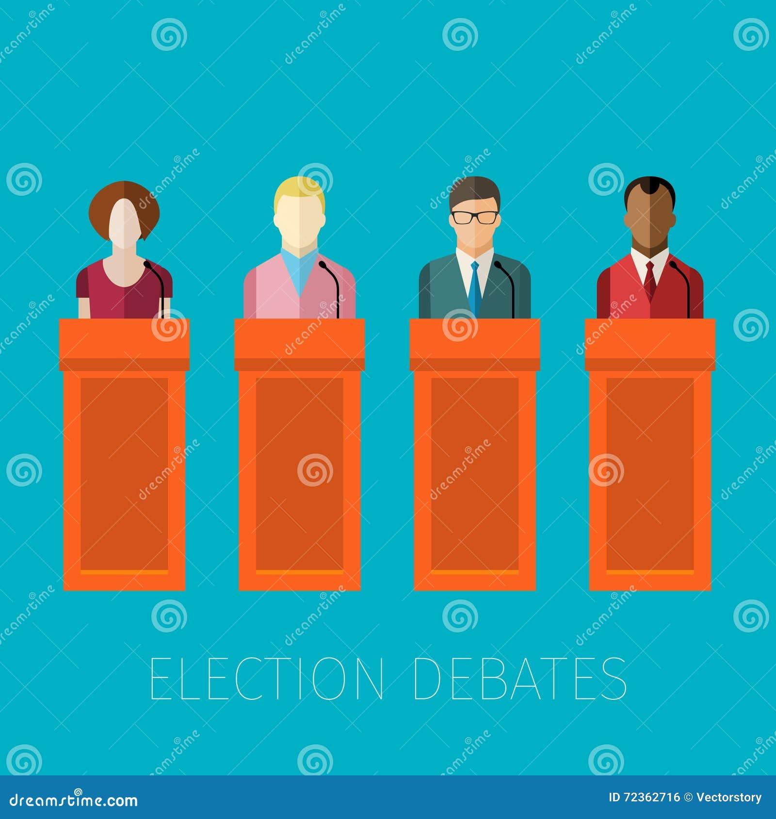 竞选辩论的概念